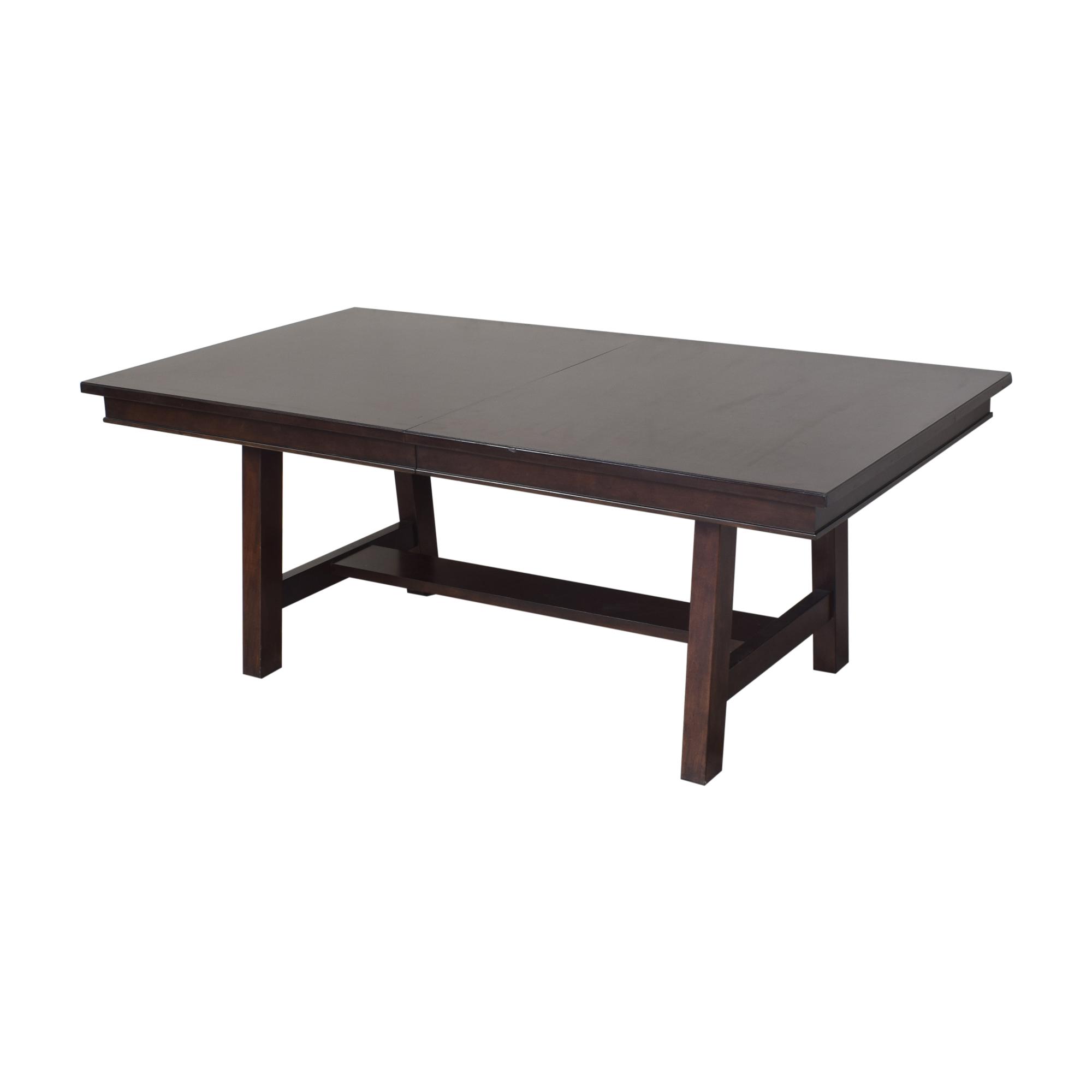 shop  Extendable Trestle Dining Table online