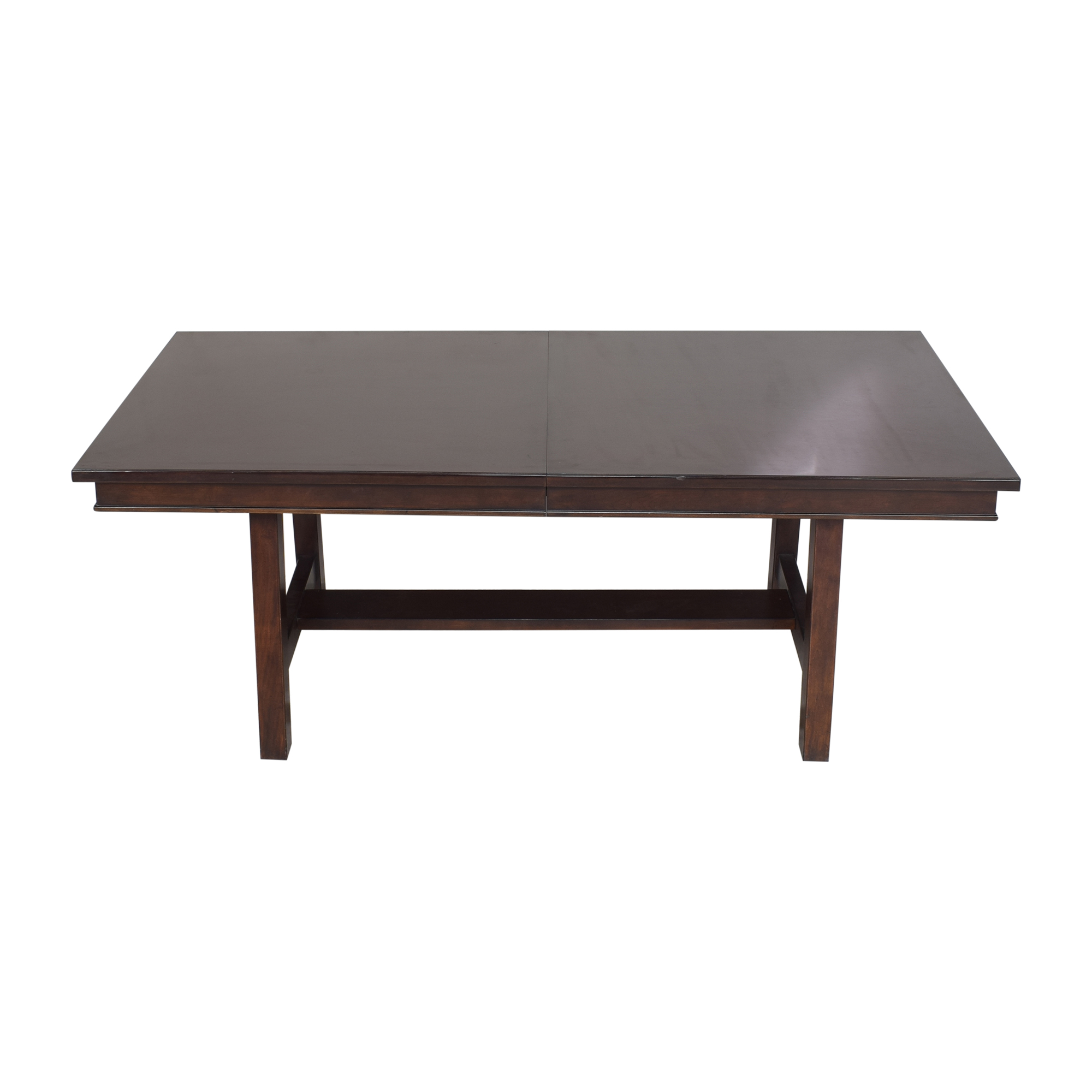 Extendable Trestle Dining Table coupon