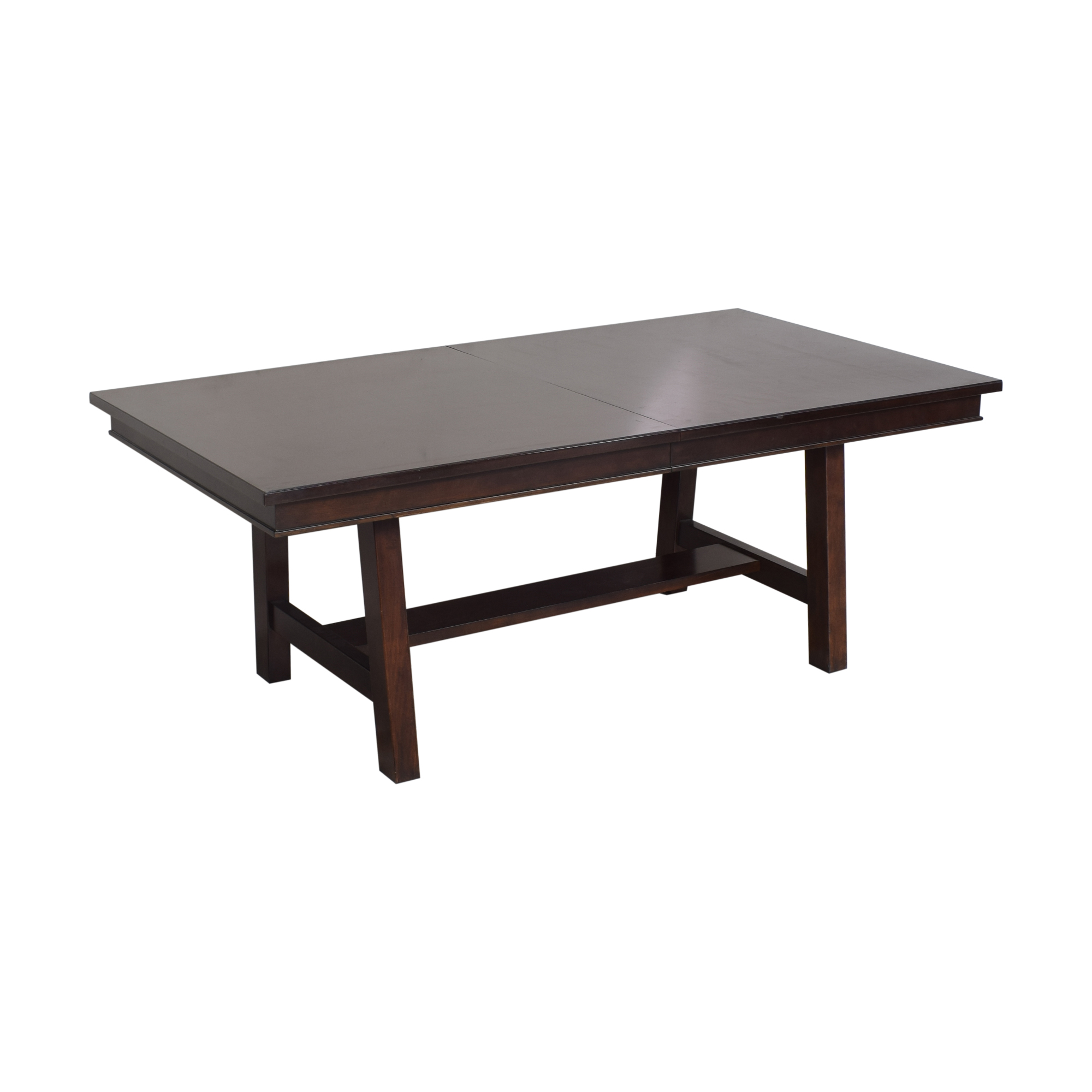 Extendable Trestle Dining Table / Dinner Tables