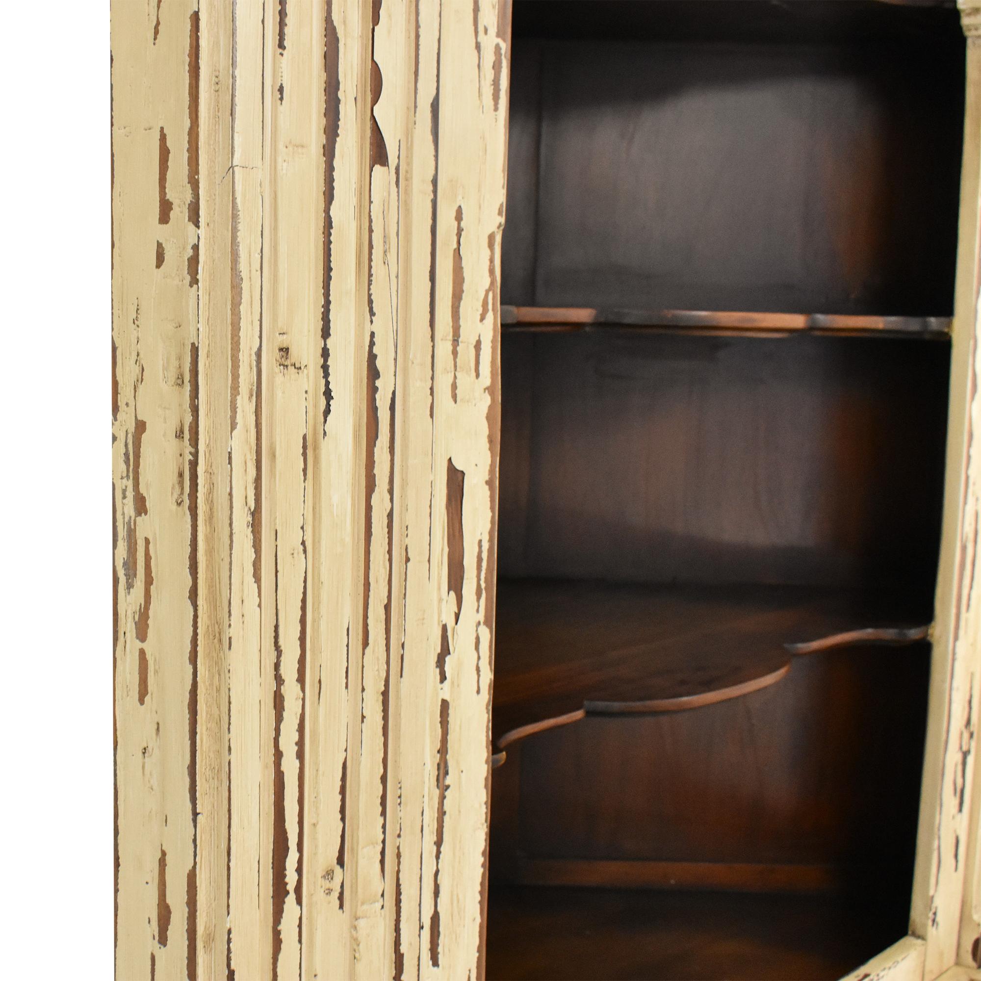 buy Bramble Furniture Estate Corner Cabinet Bramble Furniture Bookcases & Shelving