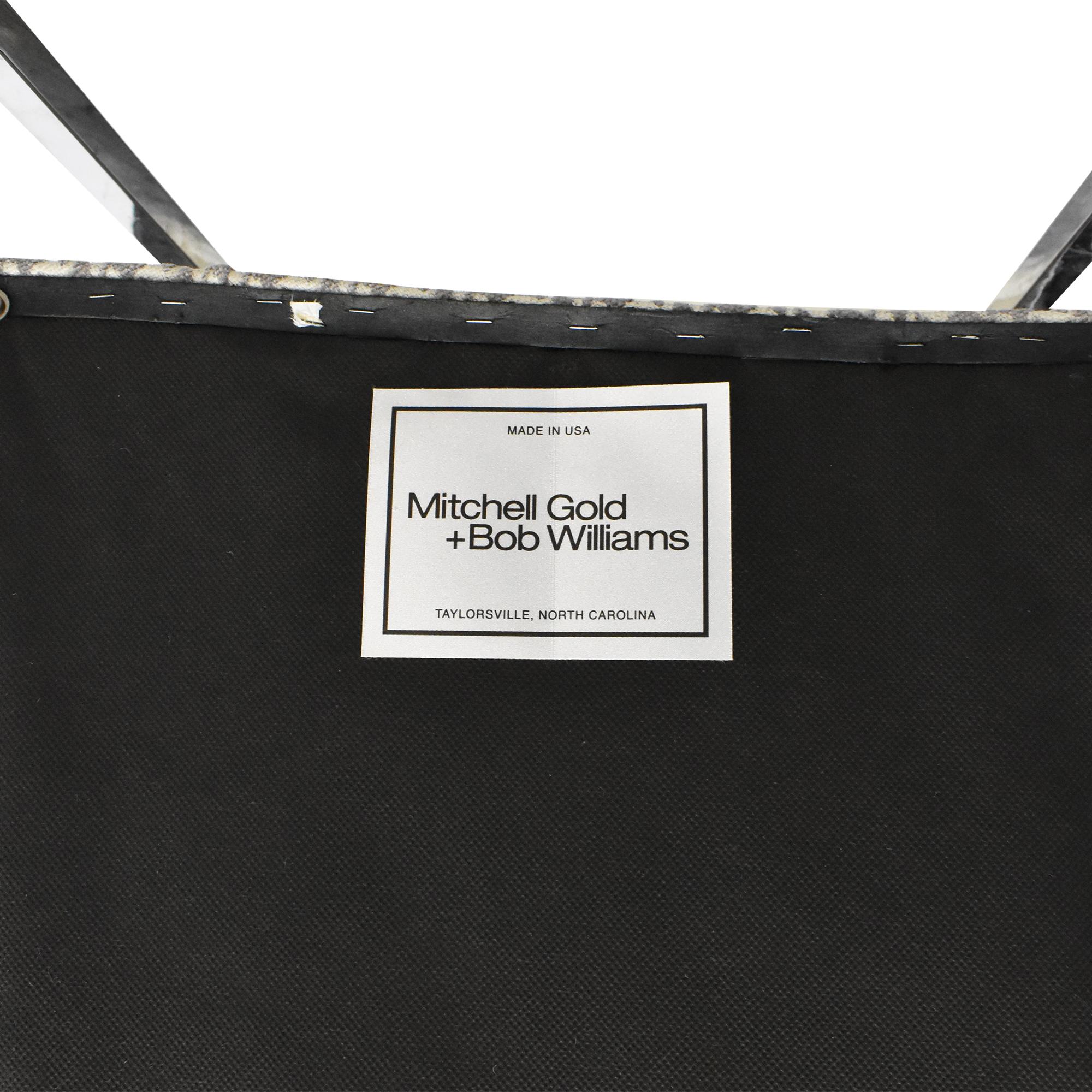 Mitchell Gold + Bob Williams Mitchell Gold + Bob Williams Gage Tall Dining Chairs dimensions