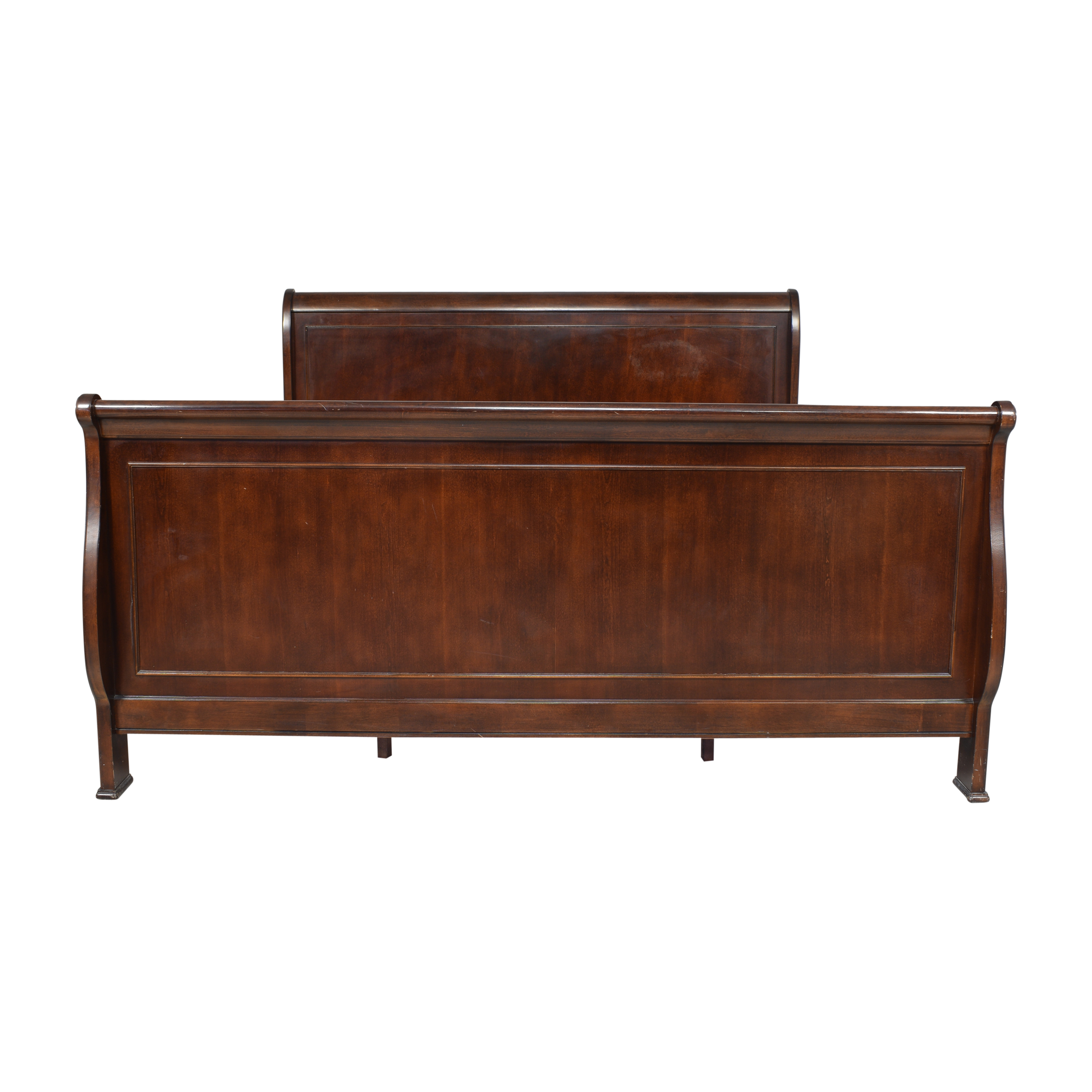 shop Havertys Orleans King Sleigh Bed Havertys Bed Frames