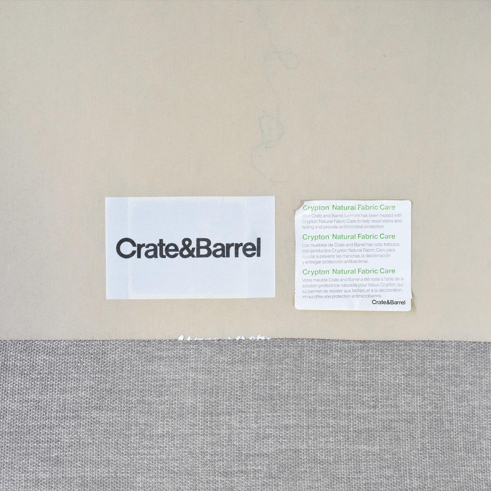 buy Crate & Barrel Crate & Barrel Davis Sleeper Sofa  online