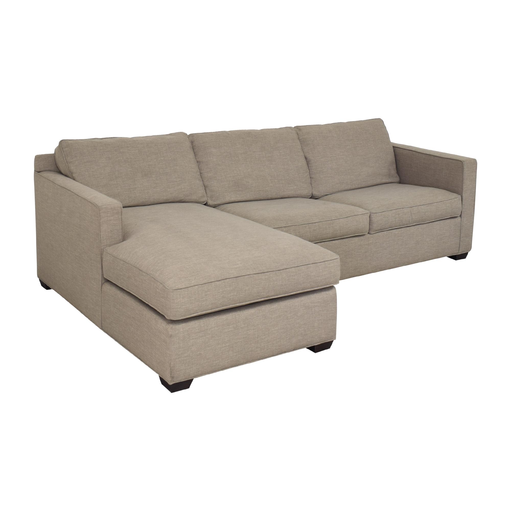 Crate & Barrel Davis Sleeper Sofa  sale