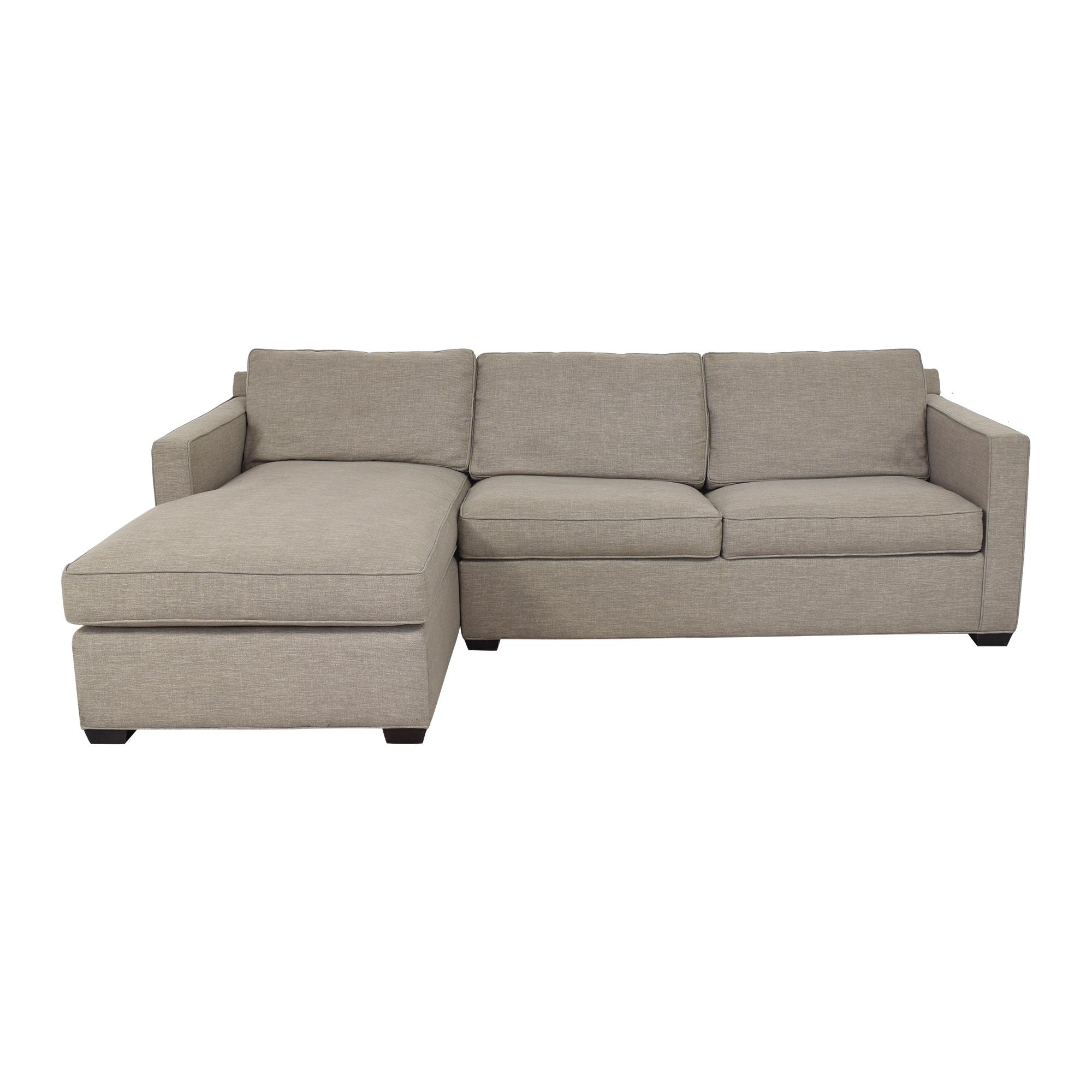 Crate & Barrel Crate & Barrel Davis Sleeper Sofa  Sofas