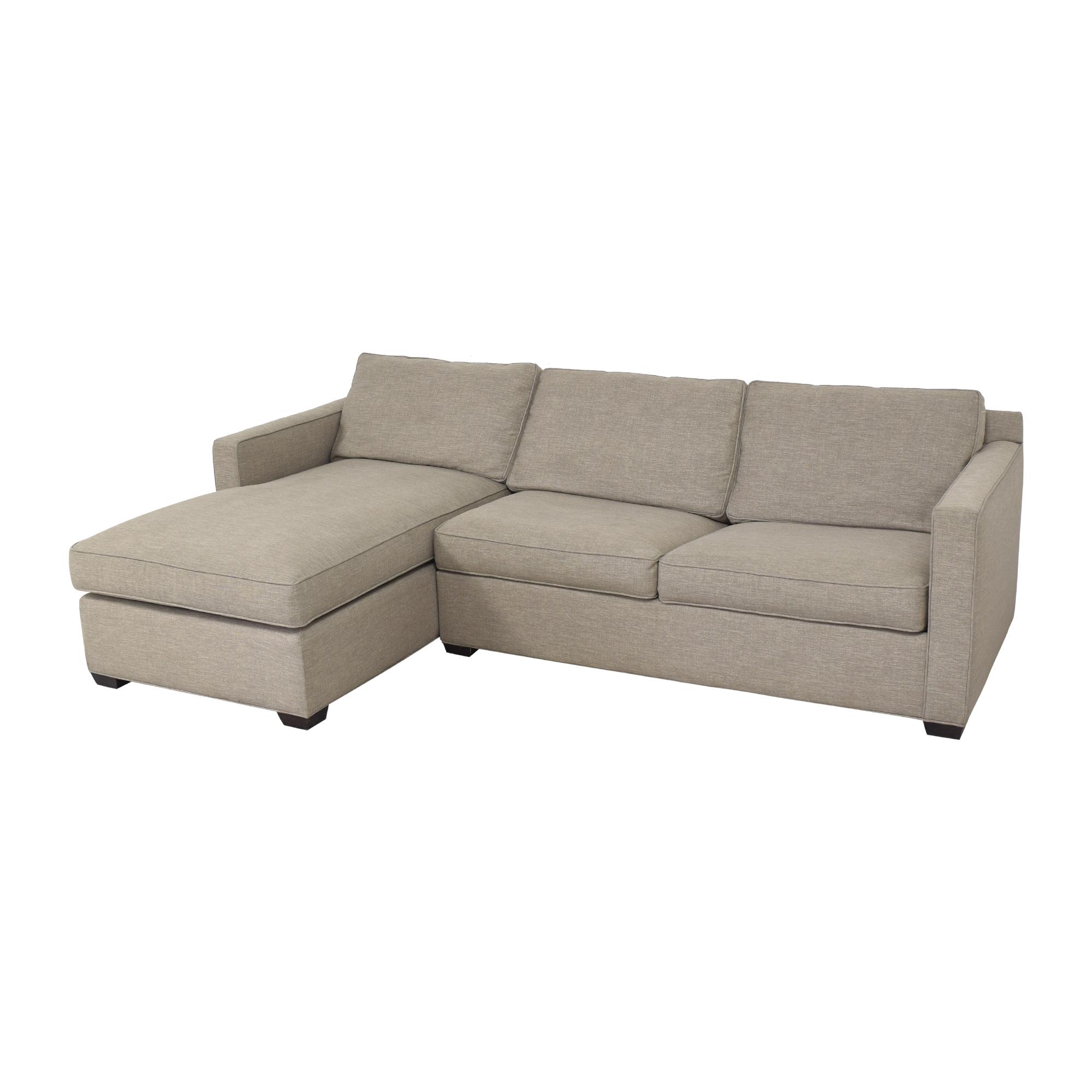 Crate & Barrel Crate & Barrel Davis Sleeper Sofa  ct