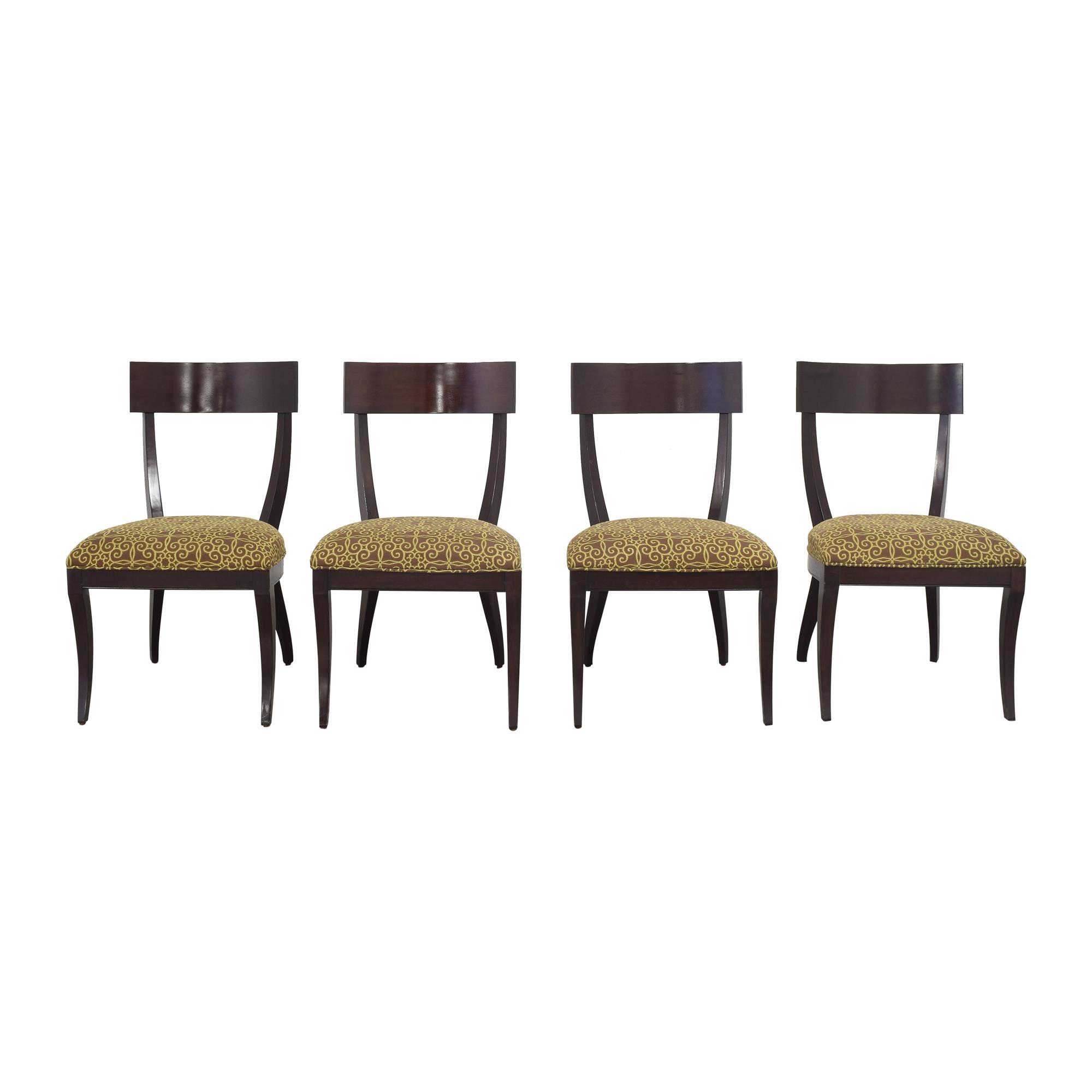 Ethan Allen Ethan Allen Klismos Side Chairs