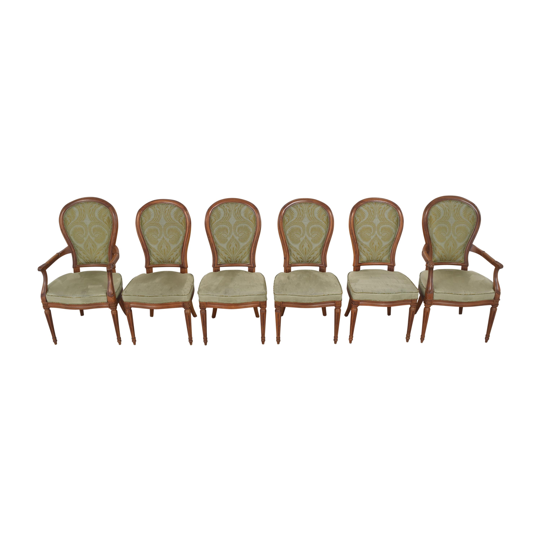 shop Henredon Furniture Upholstered Dining Chairs Henredon Furniture