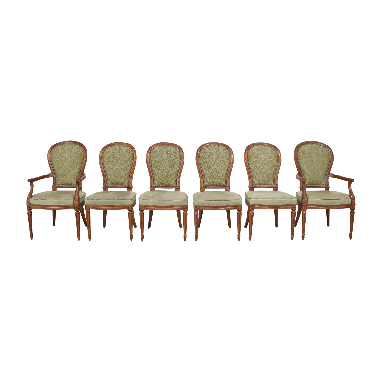 buy Henredon Furniture Upholstered Dining Chairs Henredon Furniture