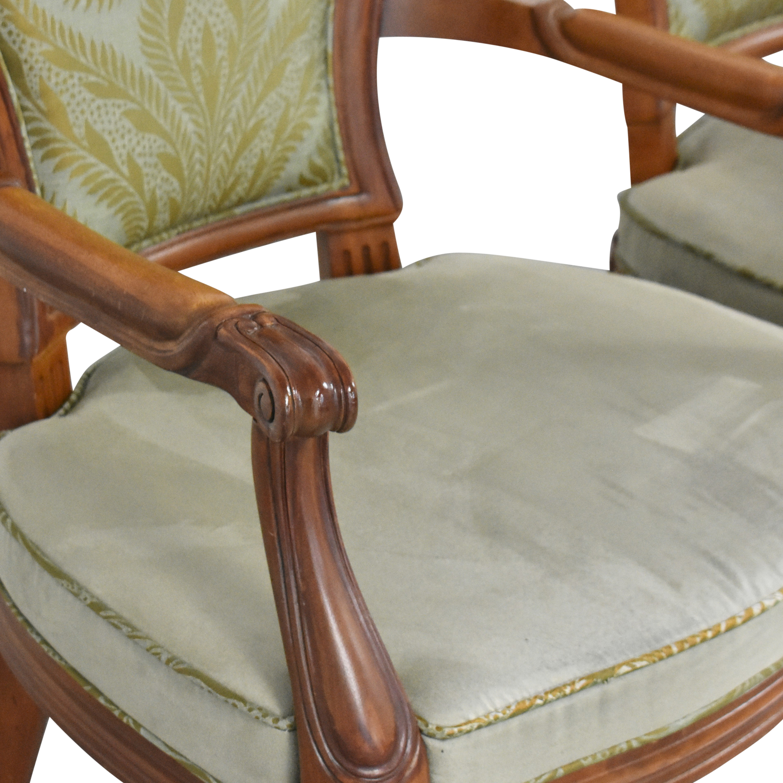 Henredon Furniture Henredon Furniture Upholstered Dining Chairs discount