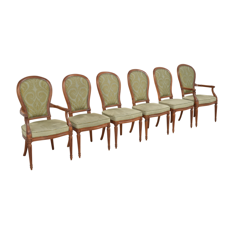 Henredon Furniture Henredon Furniture Upholstered Dining Chairs
