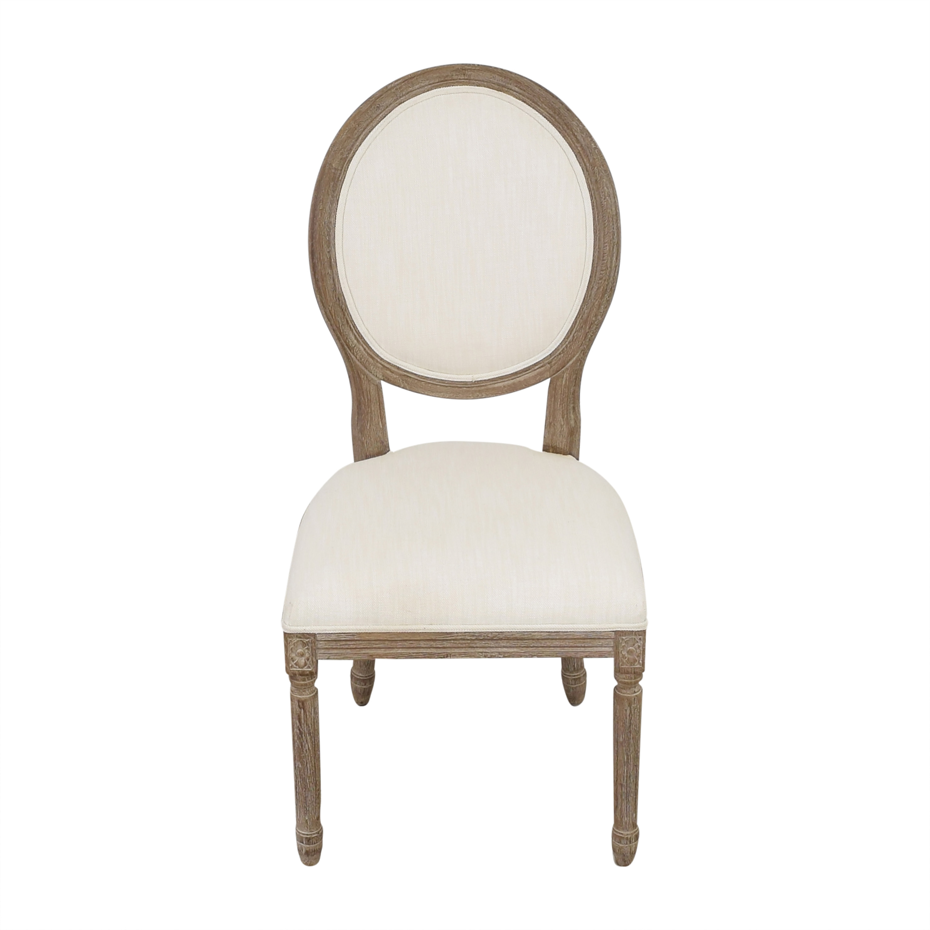 Restoration Hardware Restoration Hardware Vintage French Round Side Chair for sale