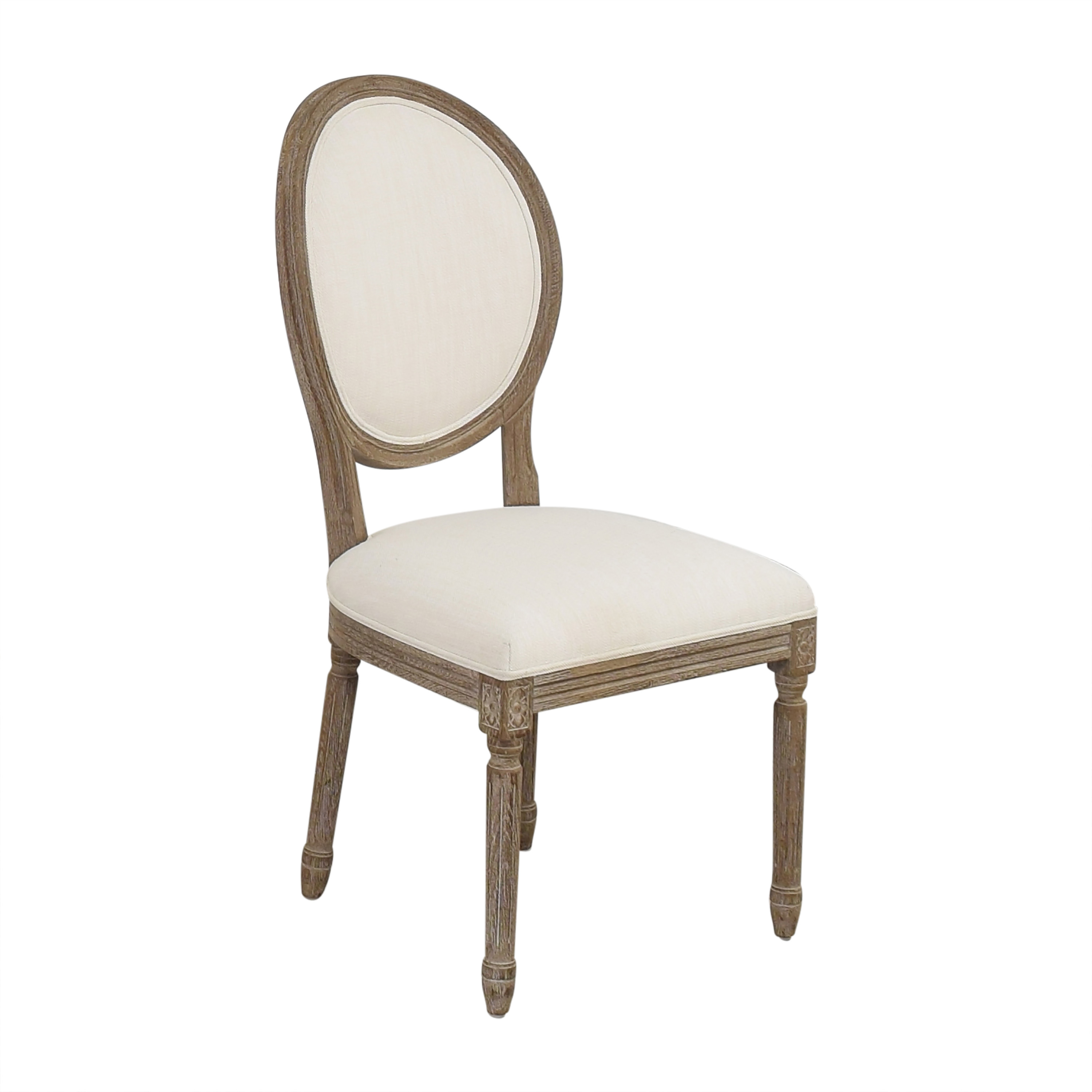 Restoration Hardware Restoration Hardware Vintage French Round Side Chair nyc