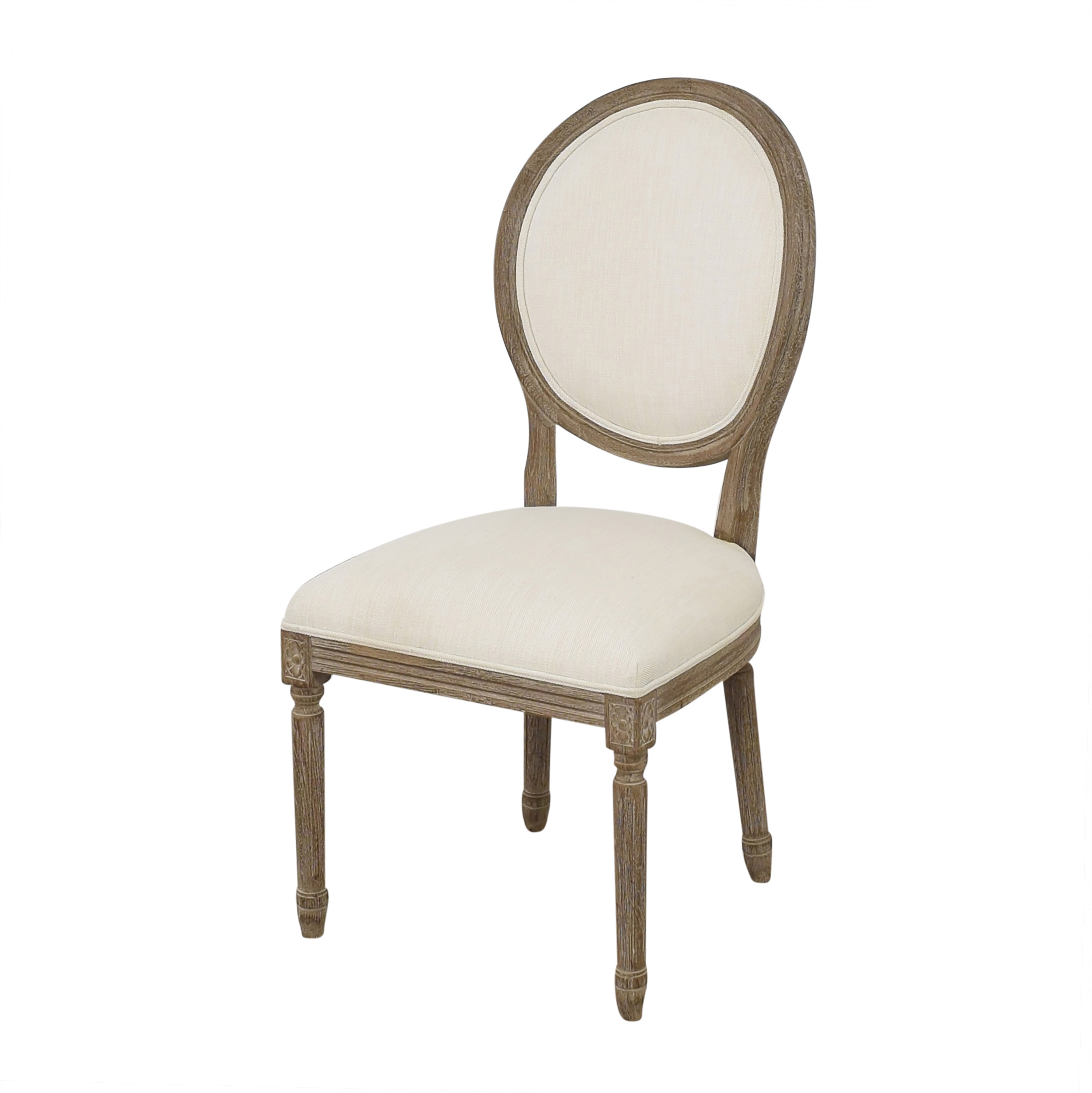 Restoration Hardware Restoration Hardware Vintage French Round Side Chair dimensions