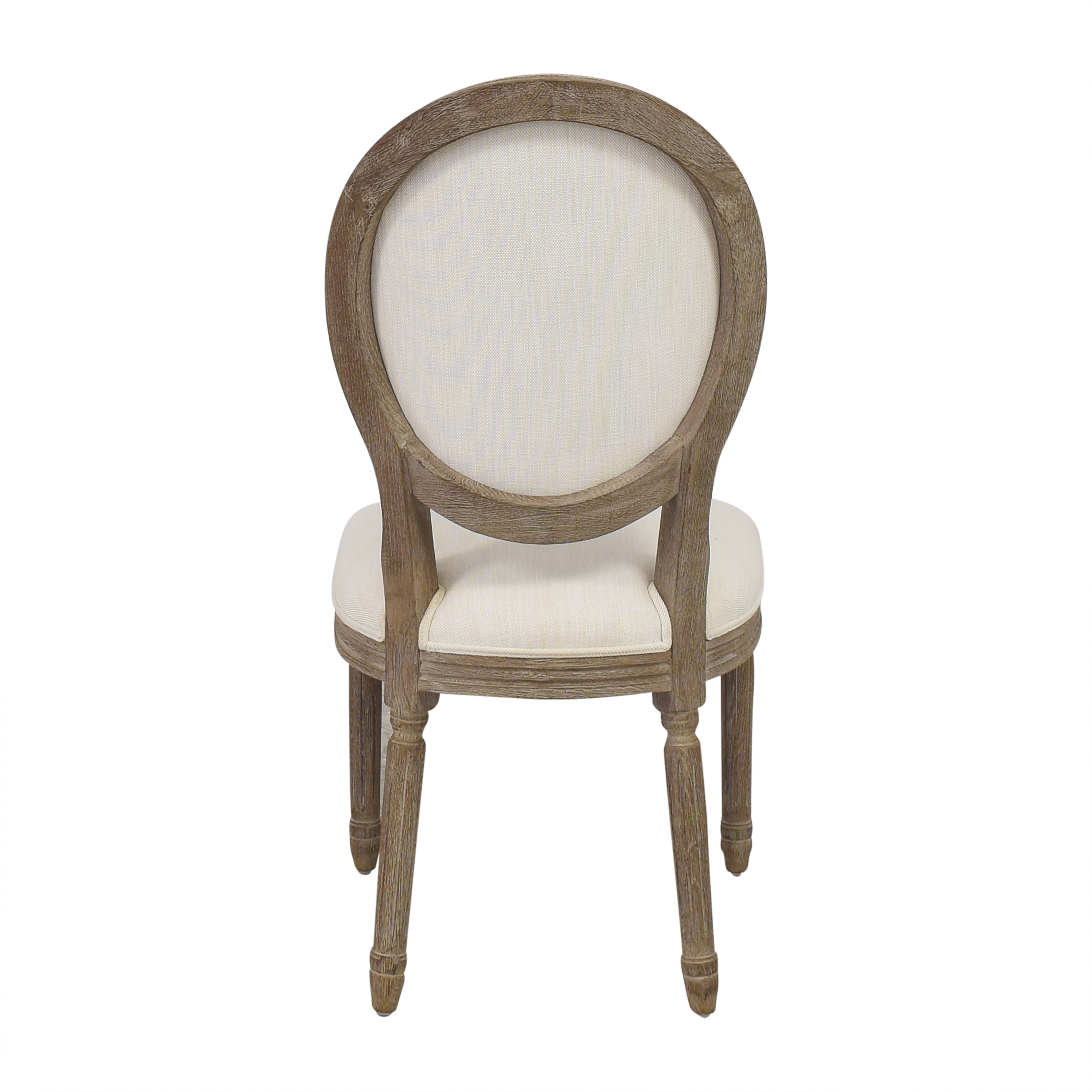 buy Restoration Hardware Restoration Hardware Vintage French Round Side Chair online