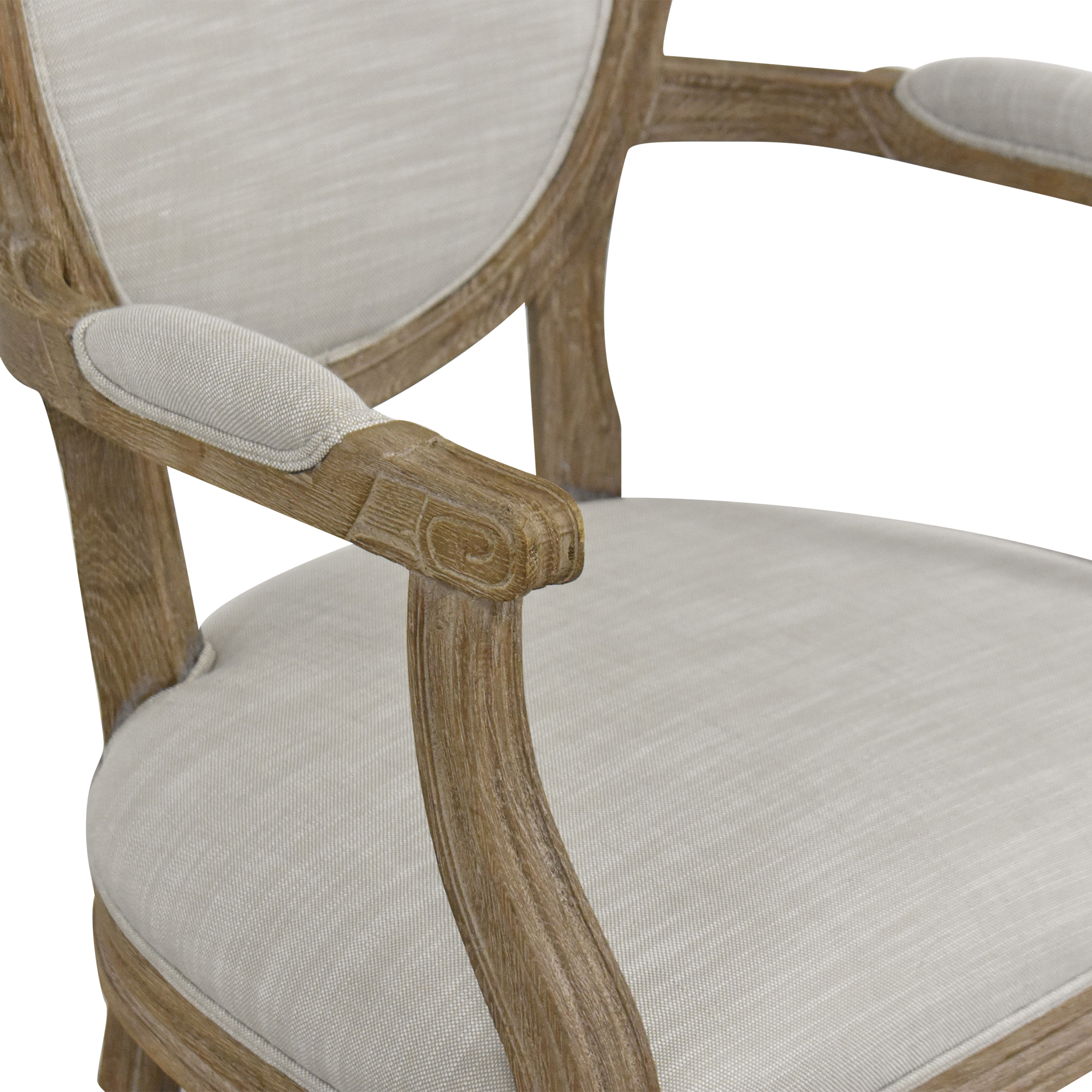 Restoration Hardware Restoration Hardware Vintage French Round Armchair ma