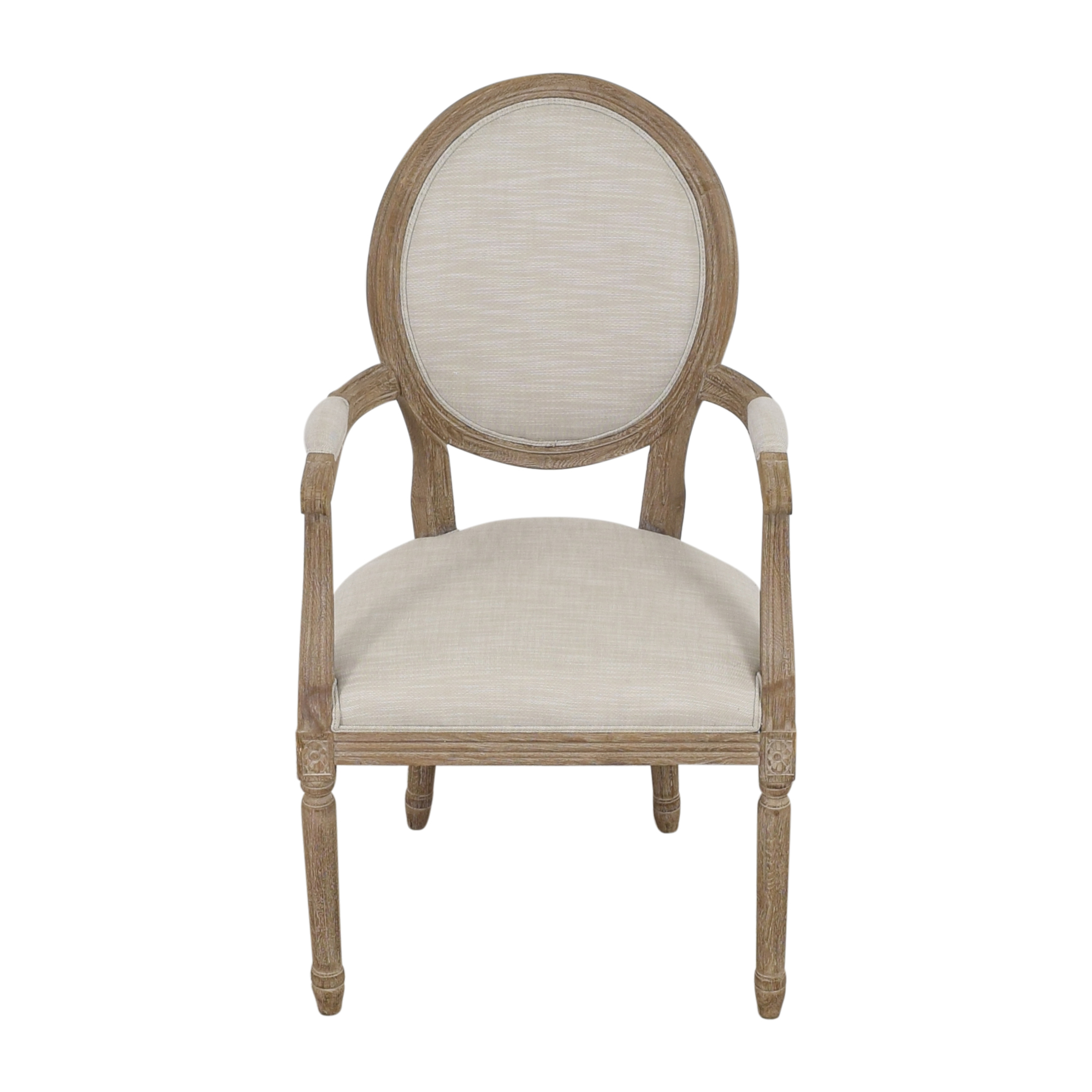 Restoration Hardware Restoration Hardware Vintage French Round Armchair nyc