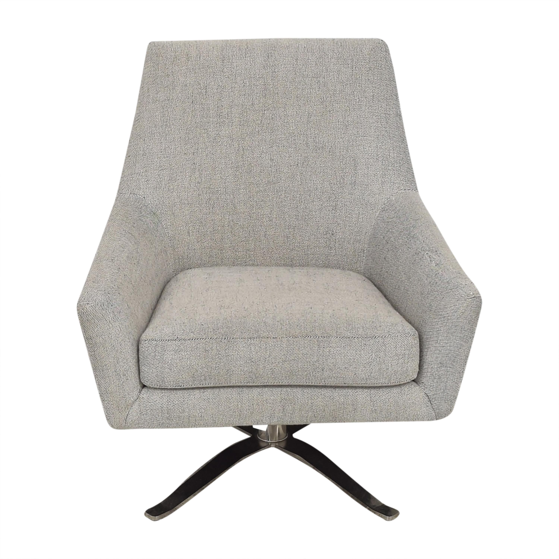 West Elm Lucas Swivel Chair / Chairs