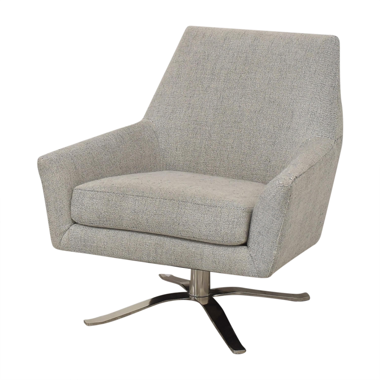 shop West Elm Lucas Swivel Chair West Elm