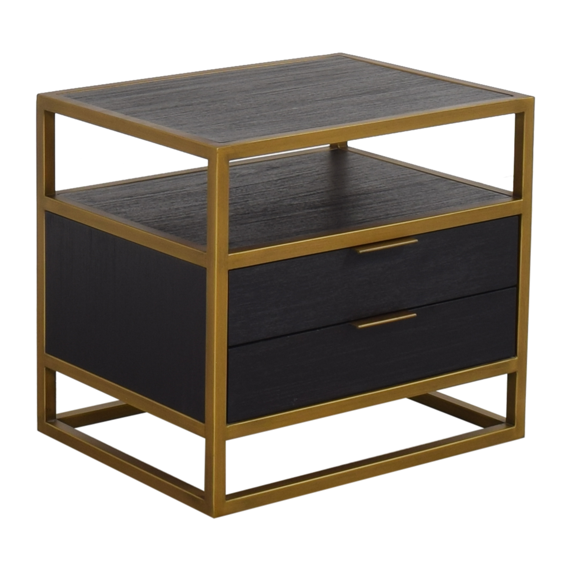 shop Crate & Barrel Crate & Barrel Oxford Two Drawer Nightstand online