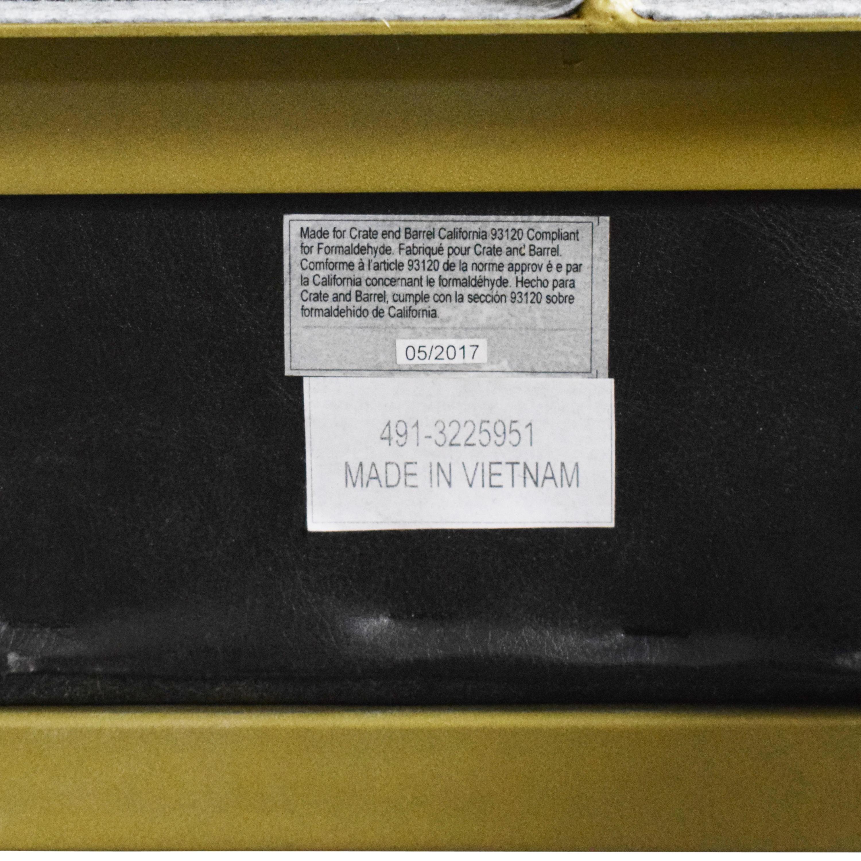 shop Crate & Barrel Oxford Queen Bed Crate & Barrel Bed Frames
