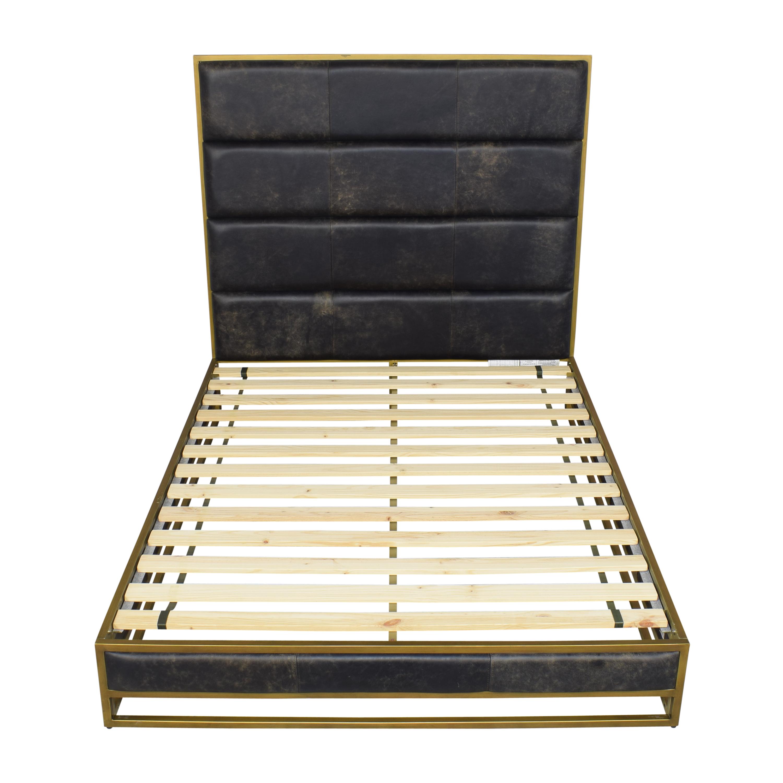 Crate & Barrel Crate & Barrel Oxford Queen Bed
