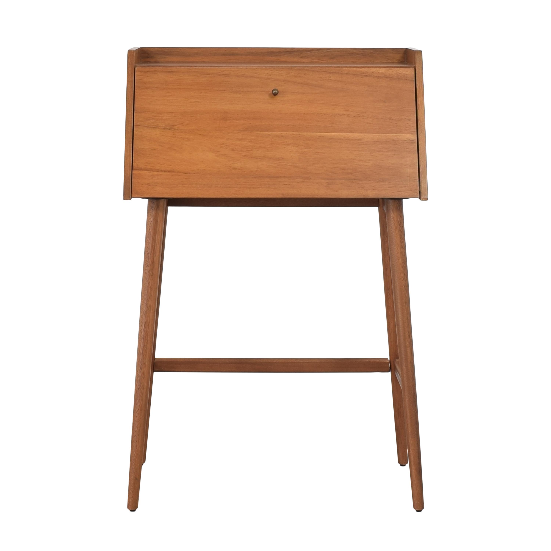 shop West Elm Mid-Century Mini Secretary Desk West Elm Tables