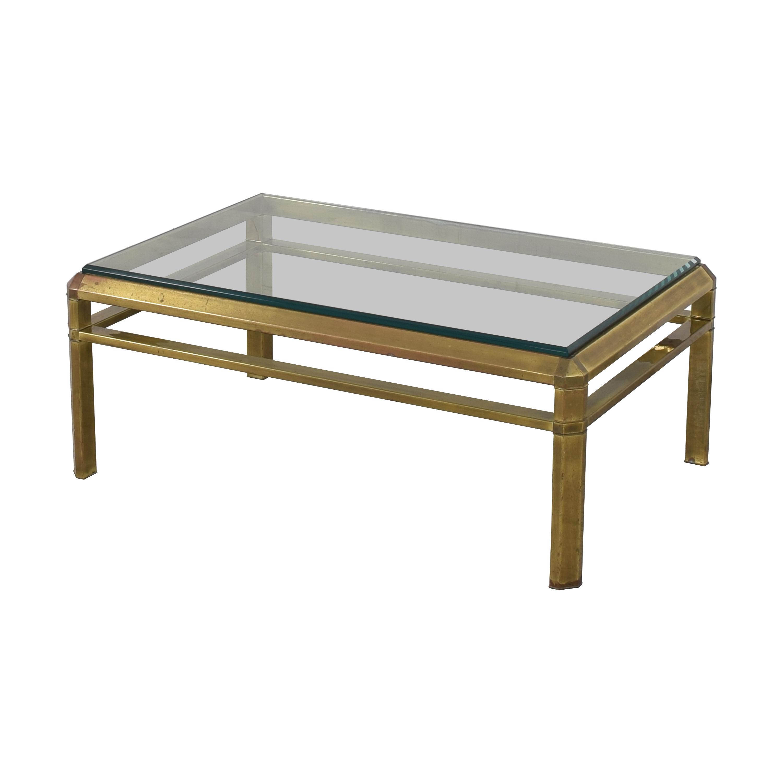 Vintage Rectangular Coffee Table used