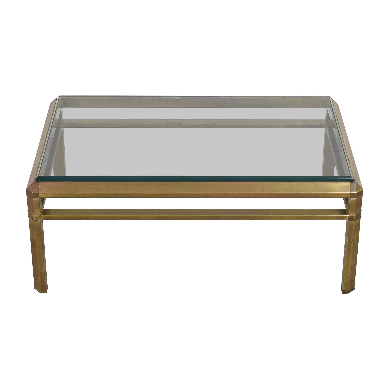 Vintage Rectangular Coffee Table
