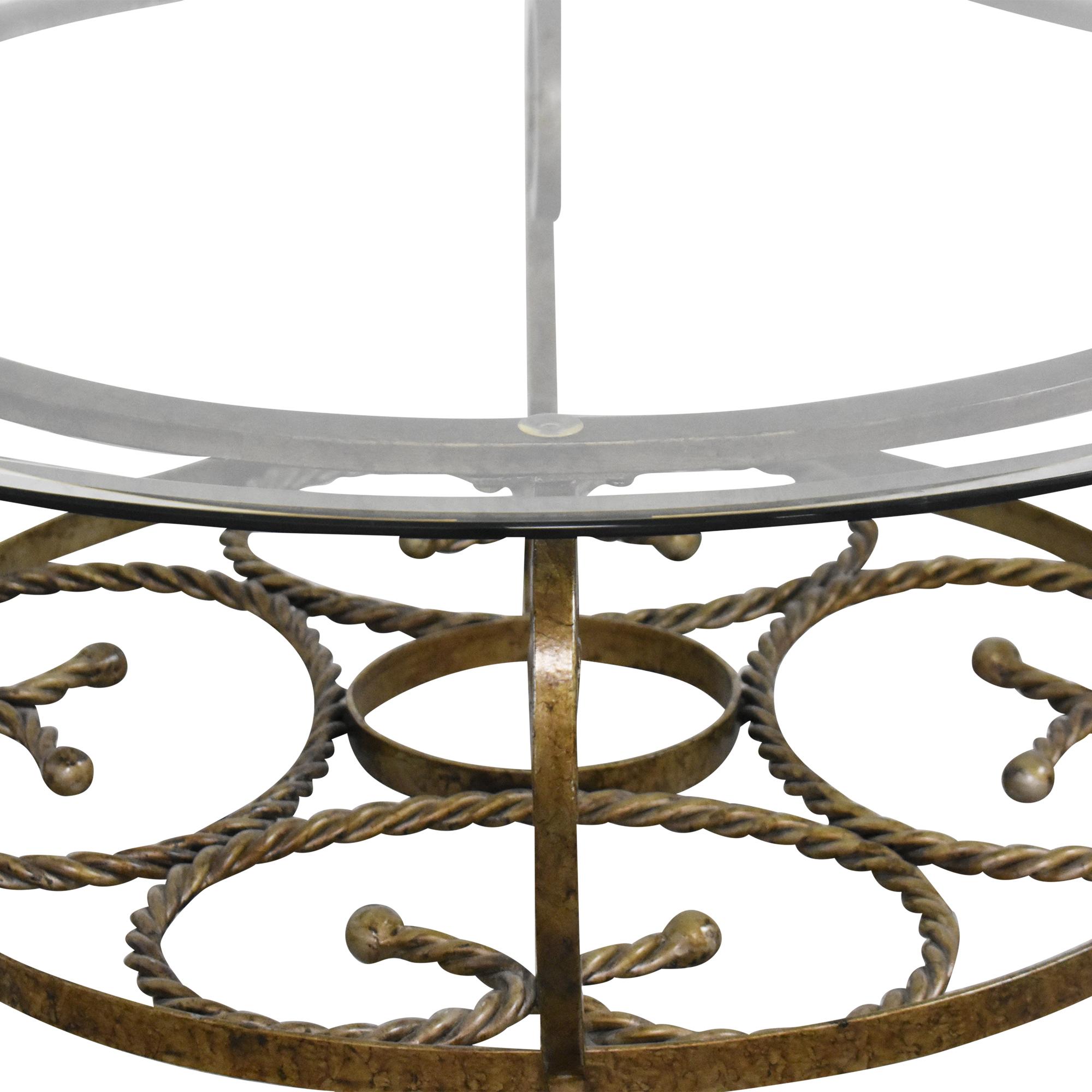 buy Raymour & Flanigan Round Coffee Table Raymour & Flanigan Coffee Tables