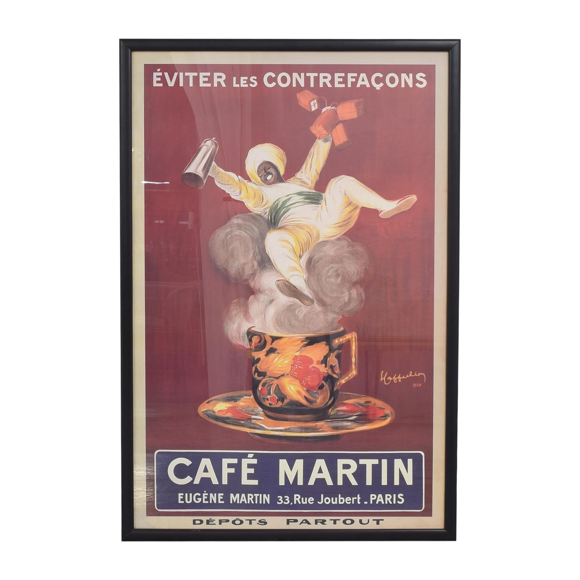 shop Phoenix Galleries Café Martin Framed Print Phoenix Galleries