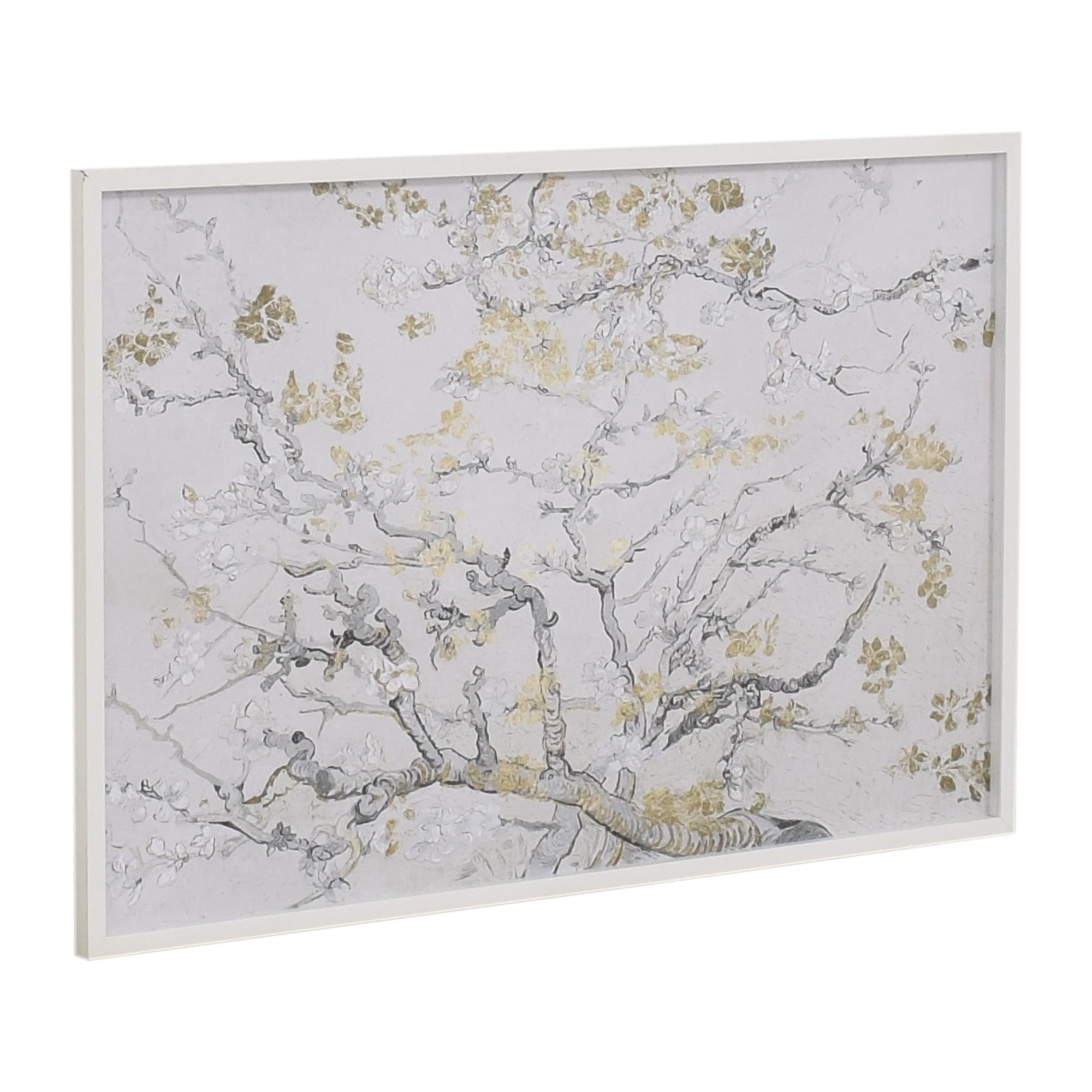 Z Gallerie Z Gallerie Vincent Van Gogh Gold Blossoms Framed Wall Art used