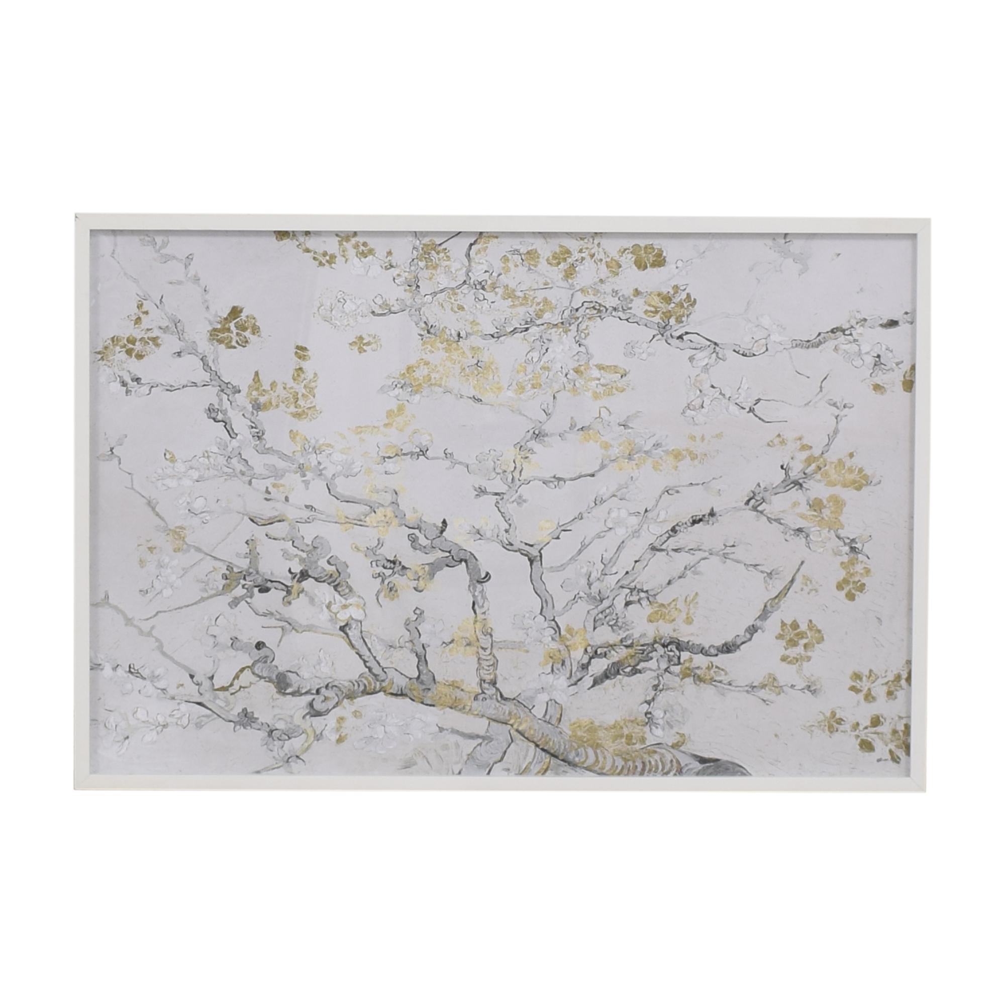Z Gallerie Z Gallerie Vincent Van Gogh Gold Blossoms Framed Wall Art coupon