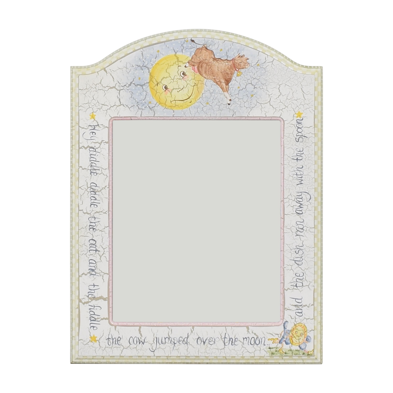 Custom Painted Wall Mirror / Decor