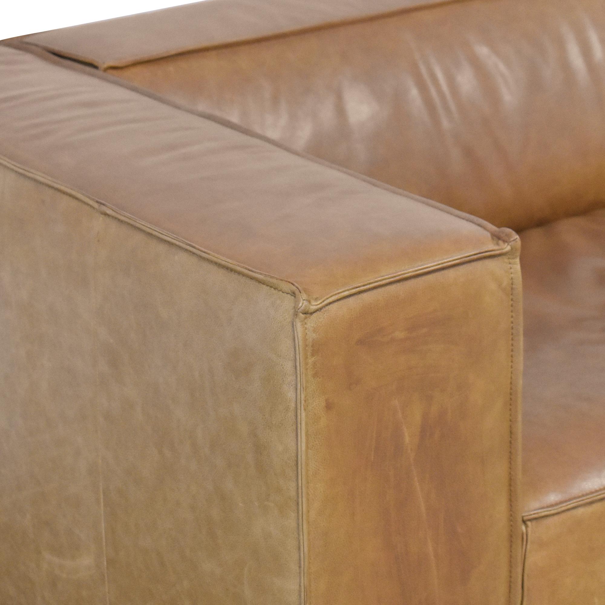 buy Interior Define Interior Define Gray Single Arm Sofa online