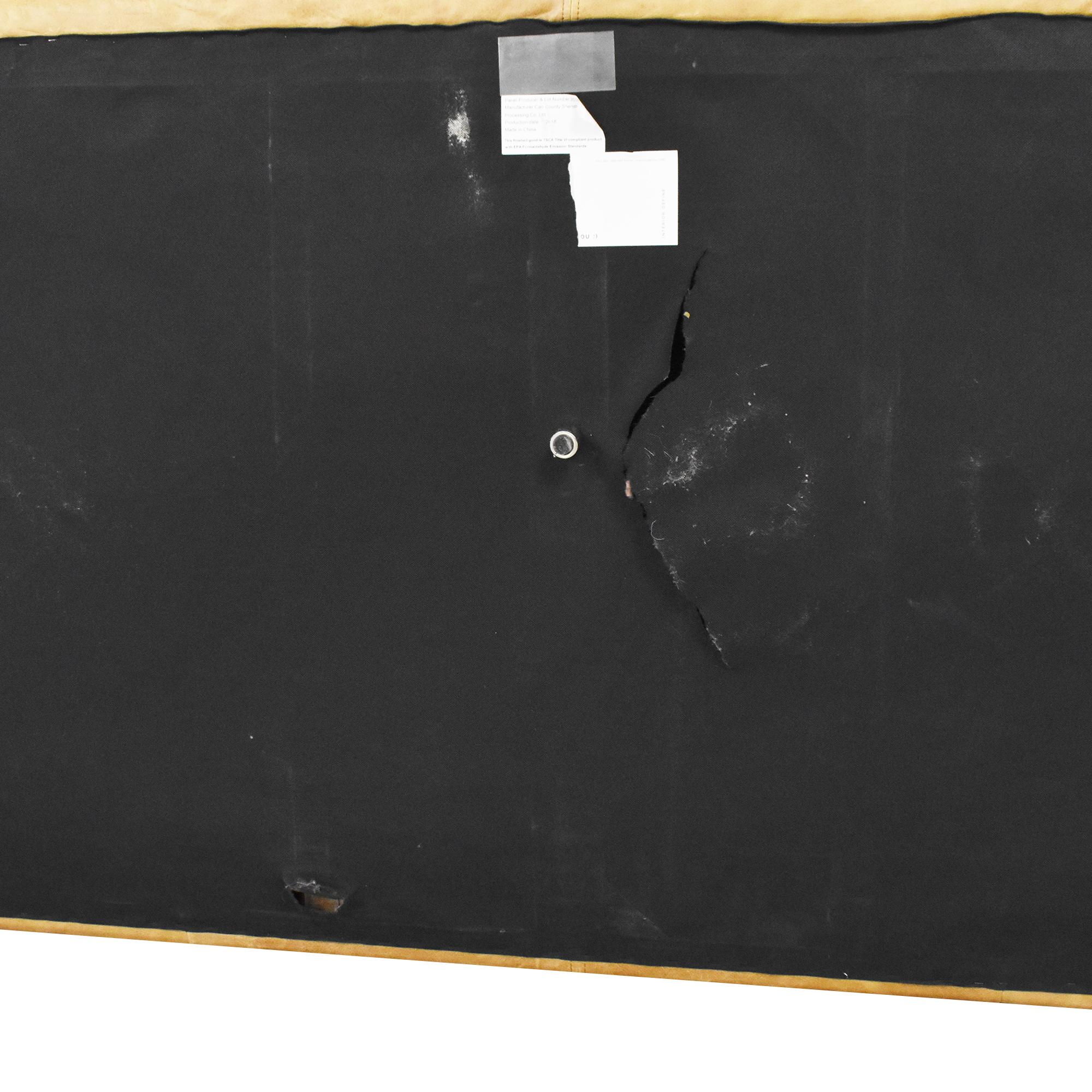 Interior Define Interior Define Gray Single Arm Sofa Sofas