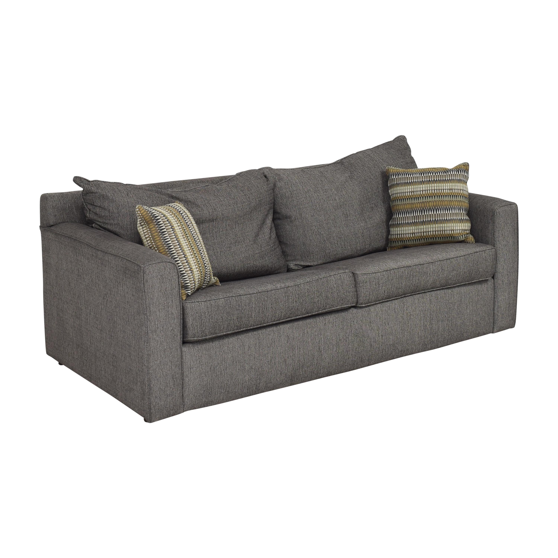buy Raymour & Flanigan Trayce Queen Sleeper Sofa Raymour & Flanigan Sofas