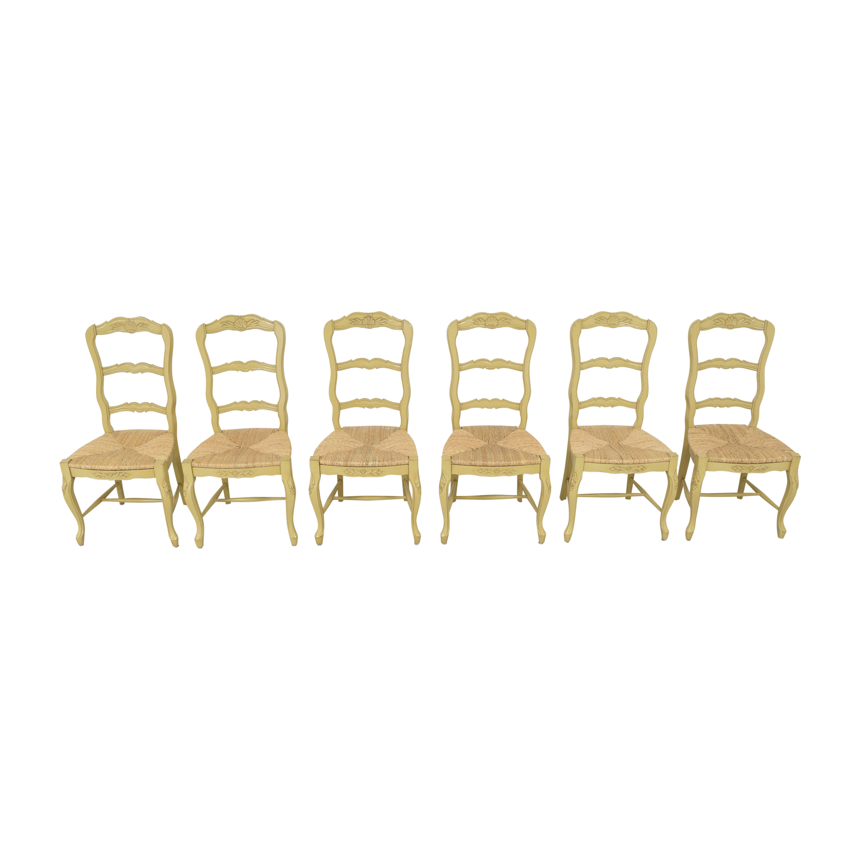 French Style Ladderback Dining Chairs nj