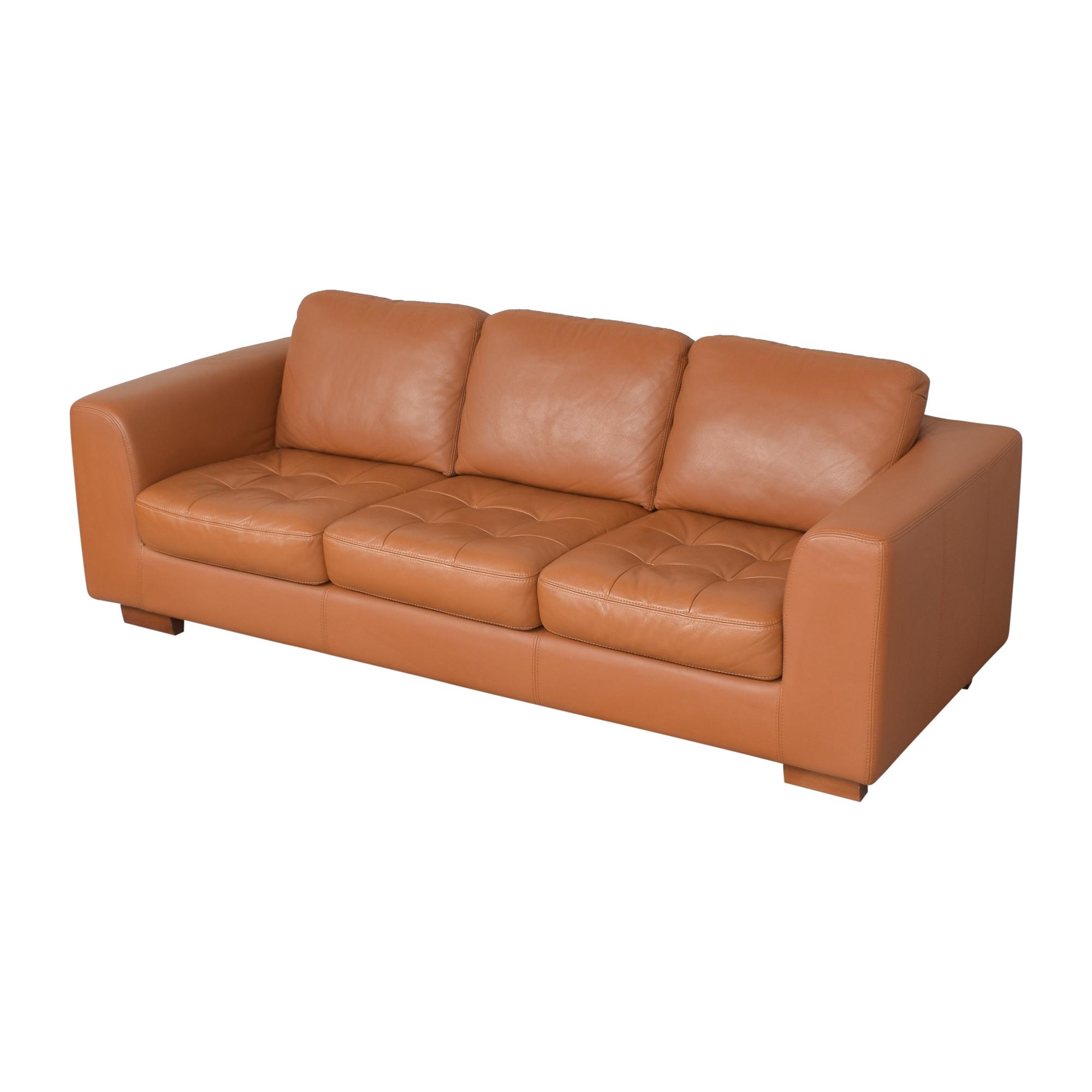 W. Schillig Three Cushion Sofa / Classic Sofas