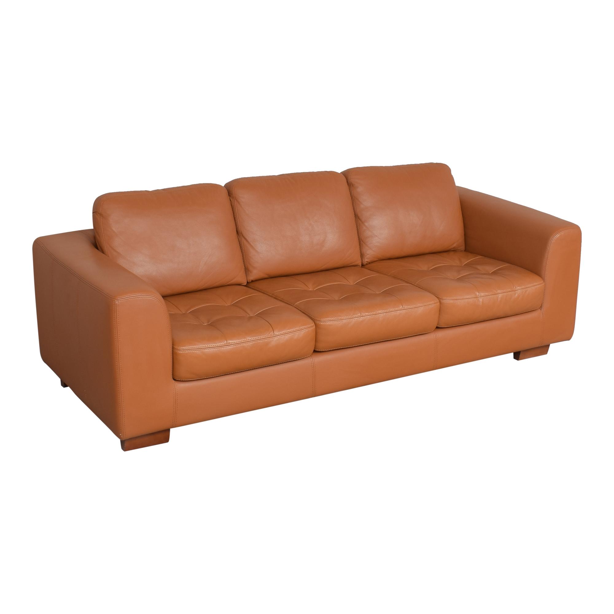 W. Schillig W. Schillig Three Cushion Sofa pa
