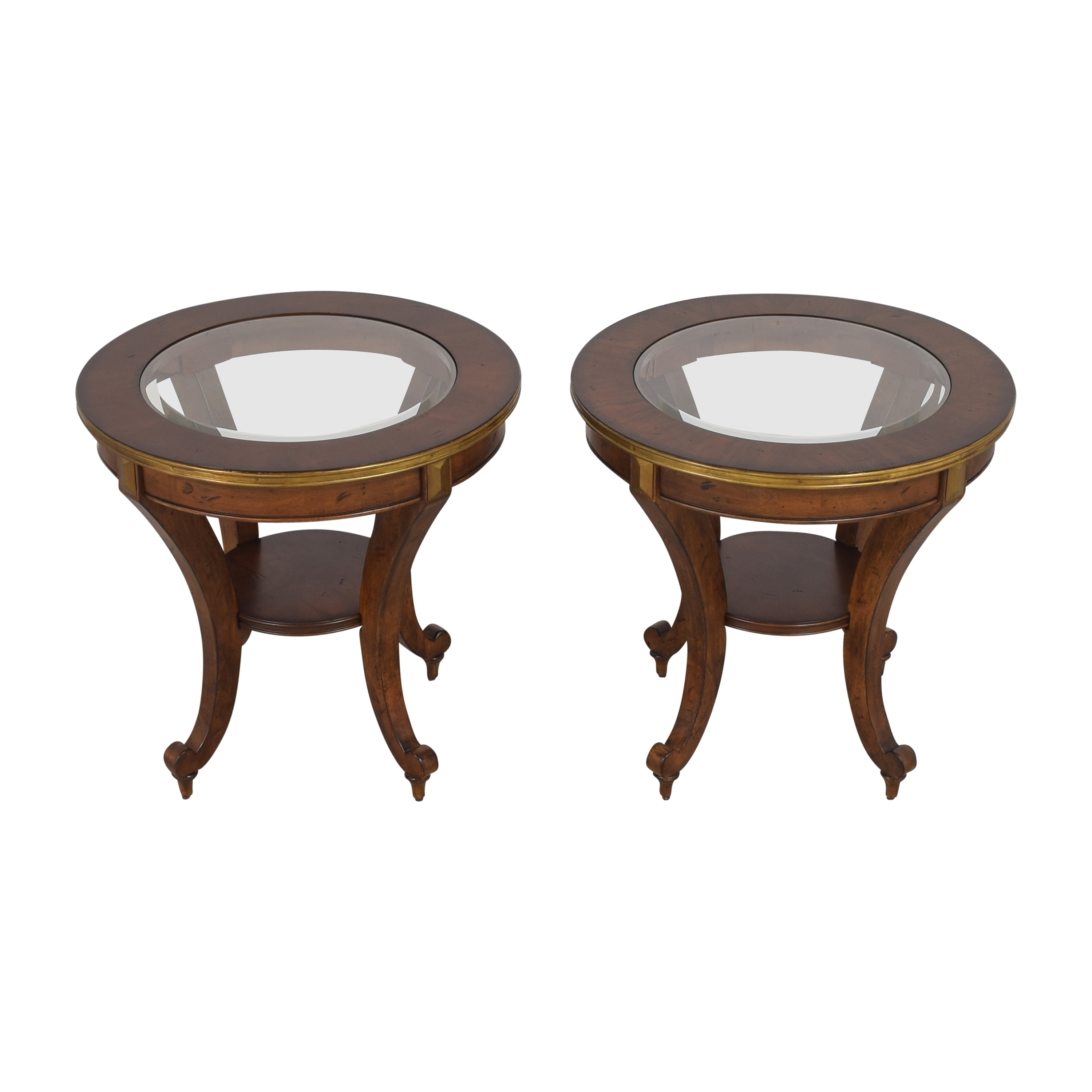 shop Havertys Round End Tables Havertys