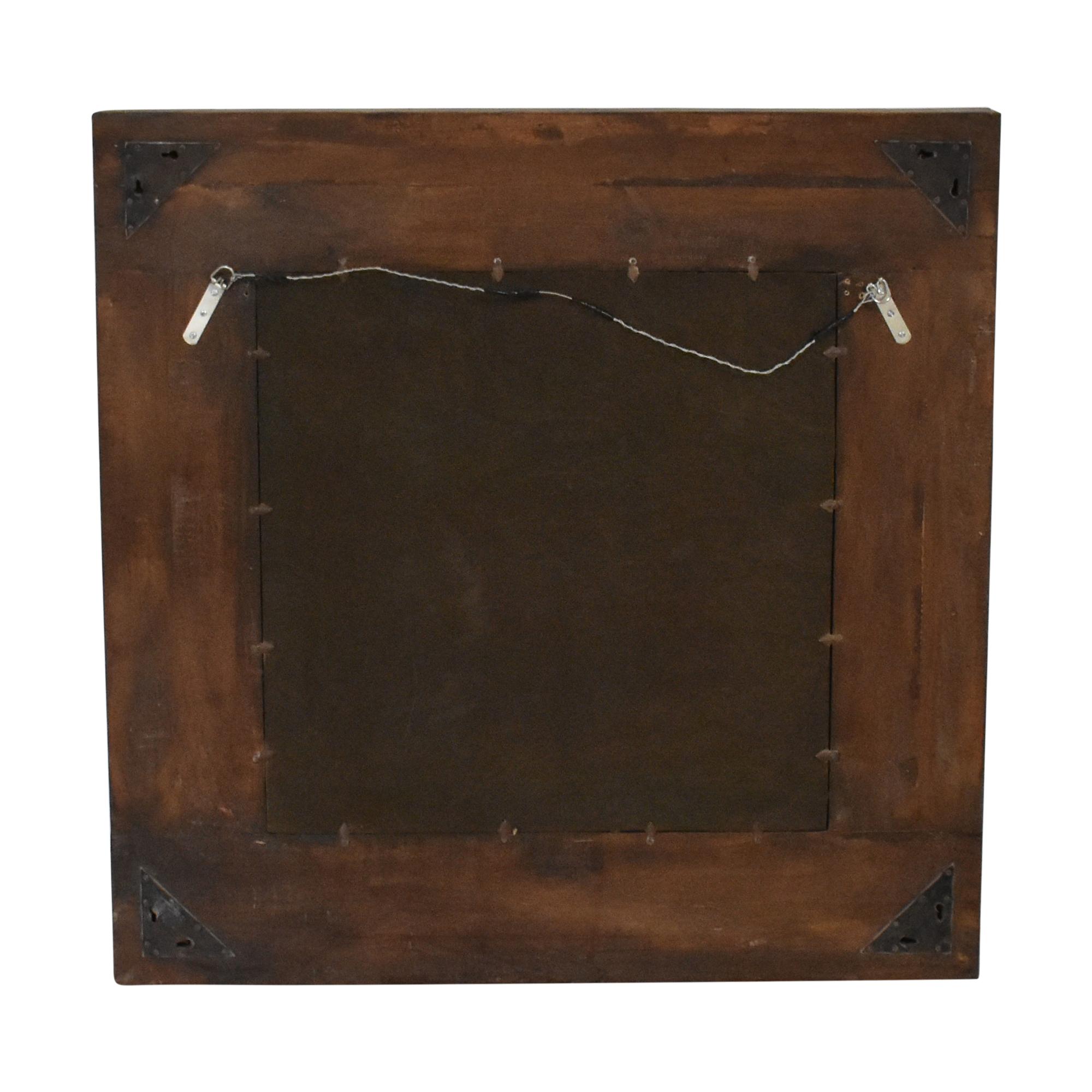 shop  Rustic Framed Wall Mirror online