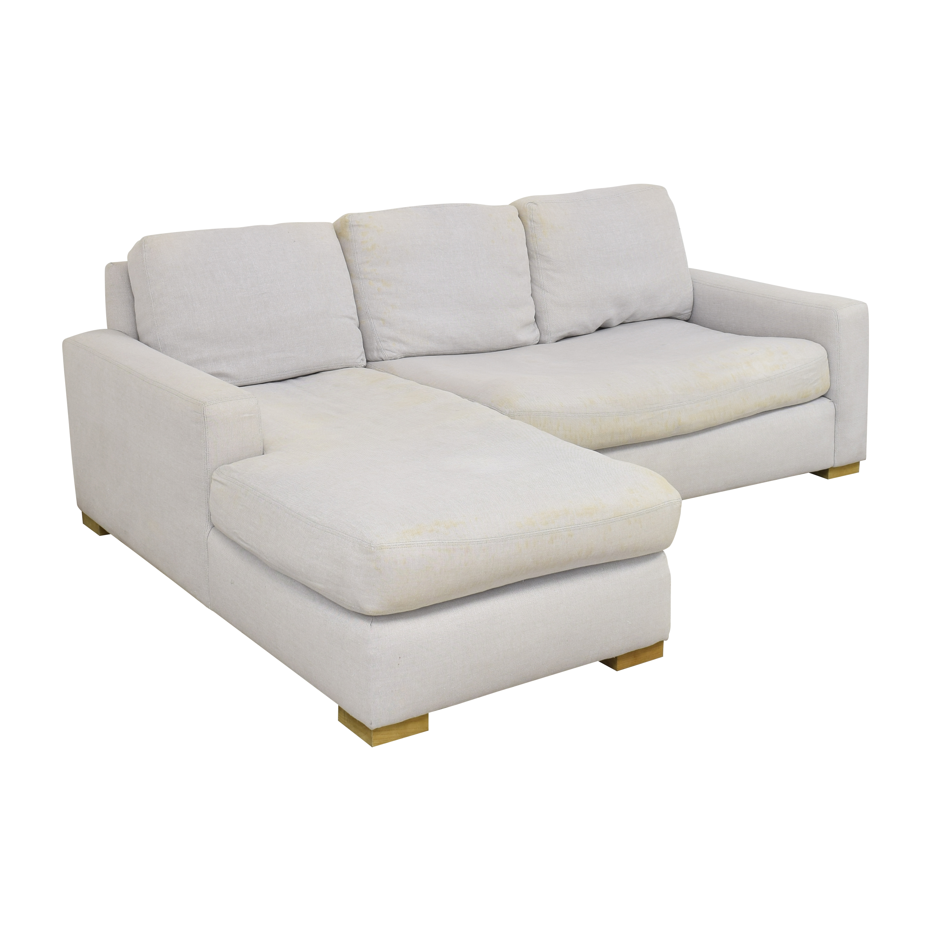Restoration Hardware Restoration Hardware Chaise Sectional Sofa  second hand