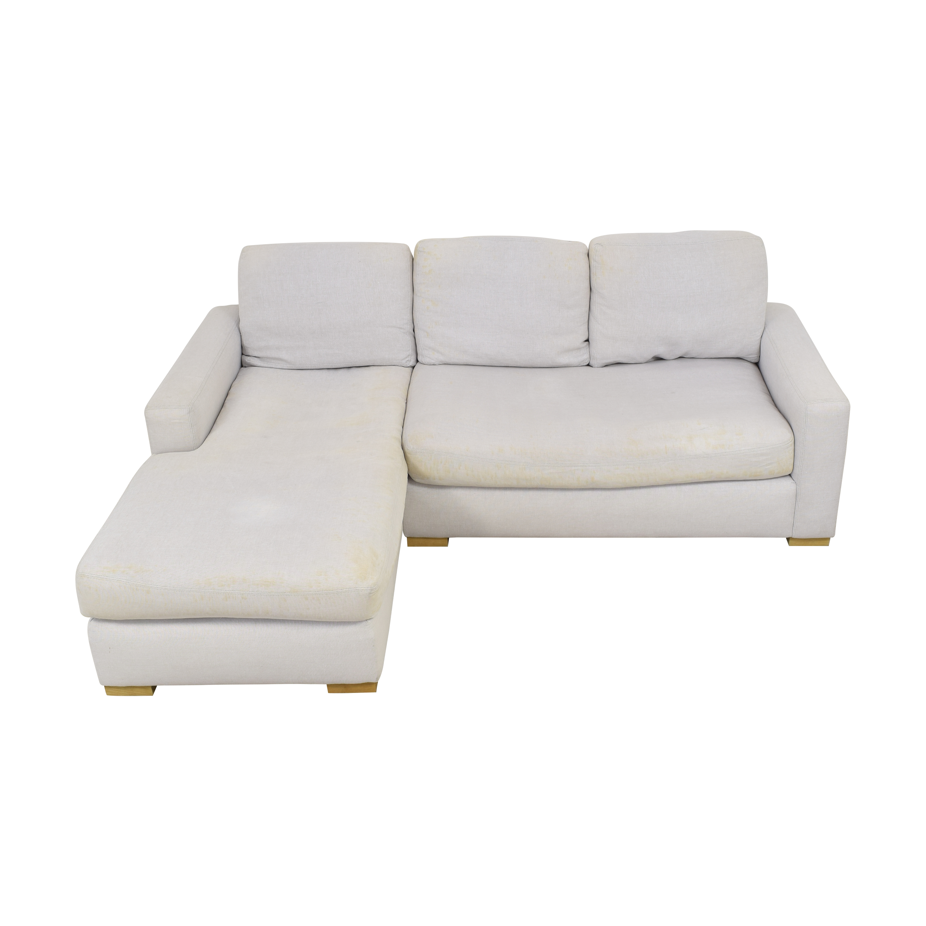 Restoration Hardware Restoration Hardware Chaise Sectional Sofa  for sale