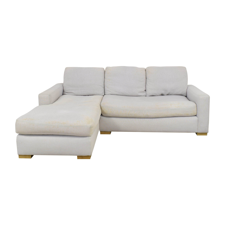 Restoration Hardware Restoration Hardware Chaise Sectional Sofa  Sofas