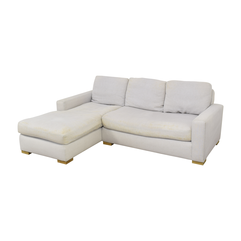 Restoration Hardware Restoration Hardware Chaise Sectional Sofa  pa