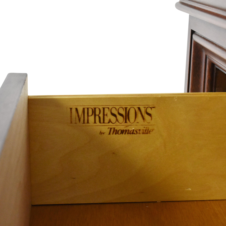 Thomasville Thomasville Impressions Martinique Dresser with Mirror