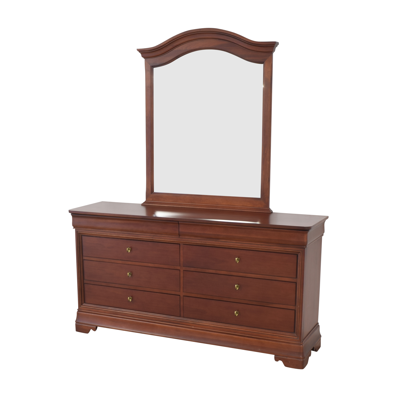 buy Thomasville Impressions Martinique Dresser with Mirror Thomasville Storage