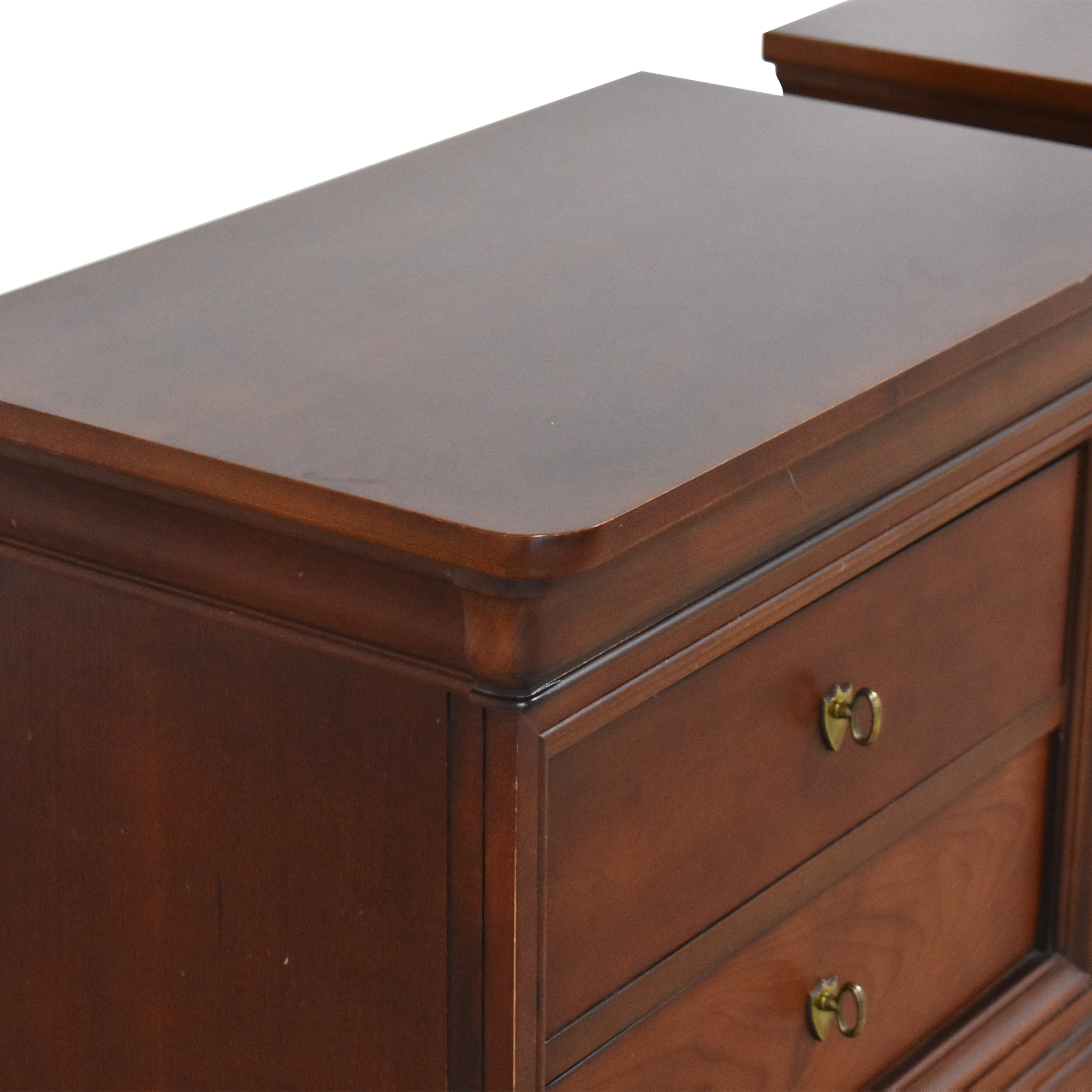 shop Thomasville Impressions Two Drawer Nightstands Thomasville End Tables