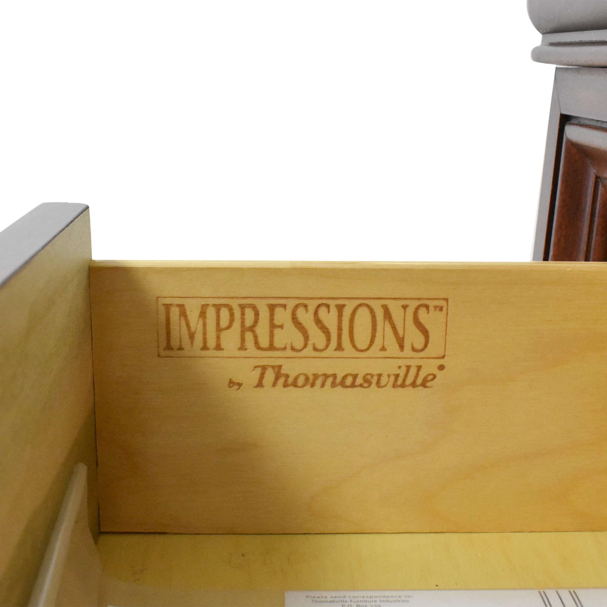 Thomasville Thomasville Impressions Two Drawer Nightstands ma